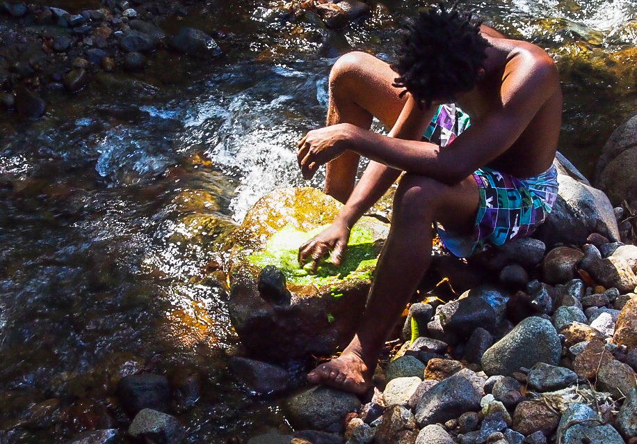 Natty by the river in Dominica | SBPR