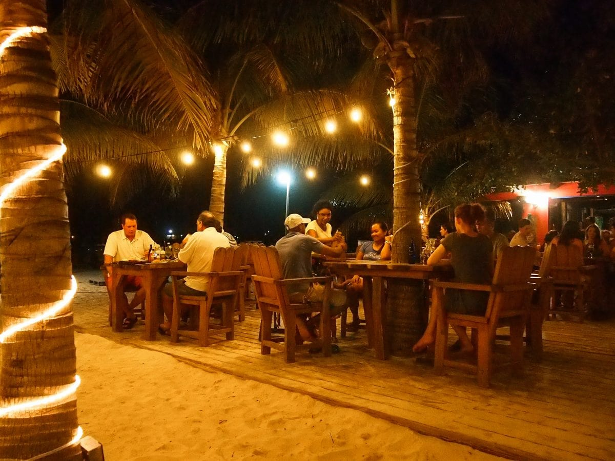 Nighttime is the right time to stop in at Bugaloo's Conch Crawl in Providenciales, Turks and Caicos | SBPR