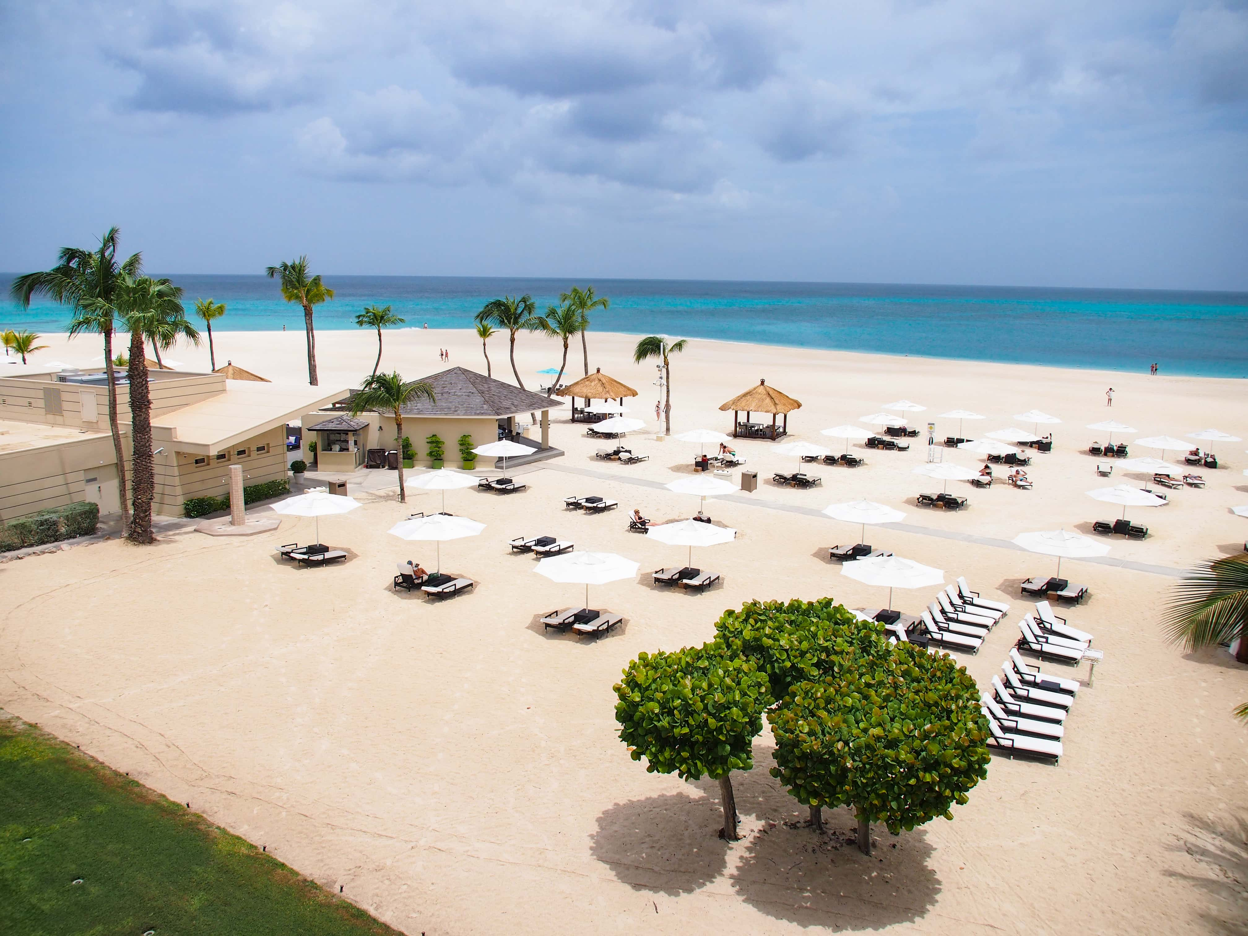 View from our suite in the Tara Suites section of the Bucuti & Tara Beach Resort, Aruba | SBPR