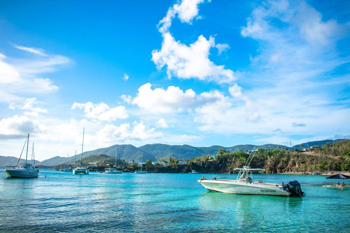 Wiling the day away at Water Island, USVI | SBPR