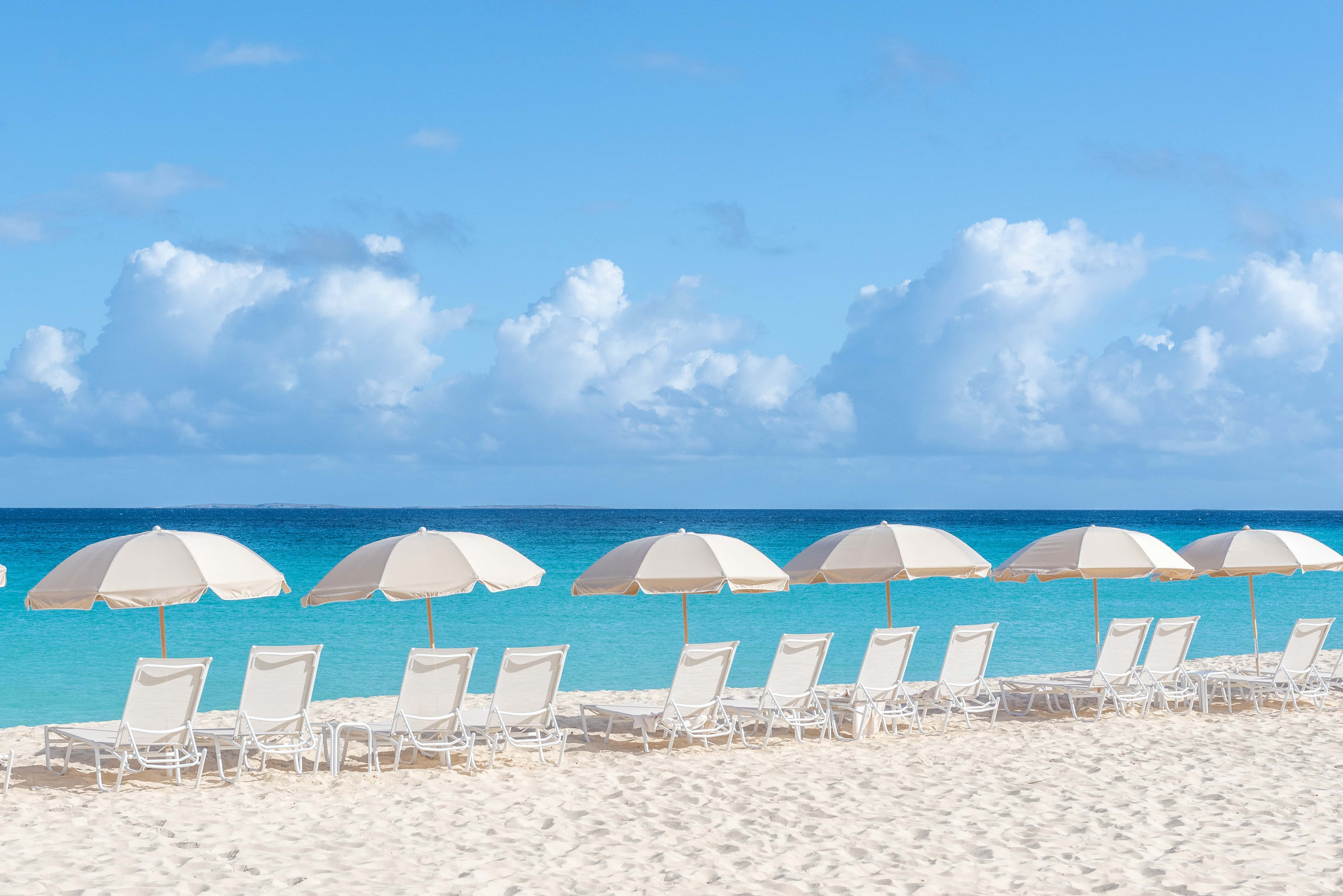 Mead's Bay, Carimar Beach Club, Anguilla by Patrick Bennett
