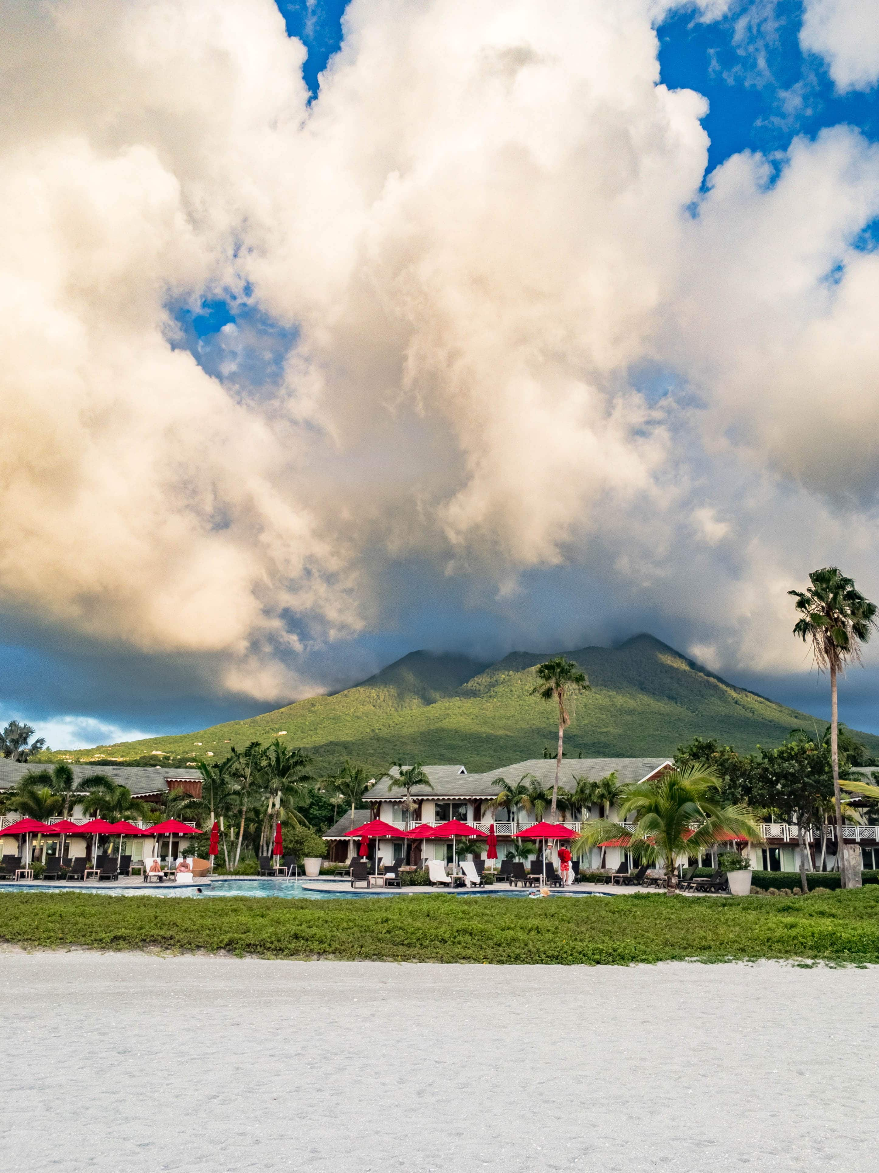 Thanks to its home on Nevis, this particular Four Seasons, just oozes exotic.