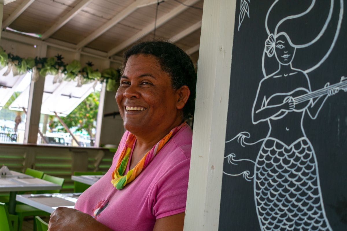 Roti Sue serves healthy roti packed with organic veggies in Falmouth Harbour, Antigua | SBPR