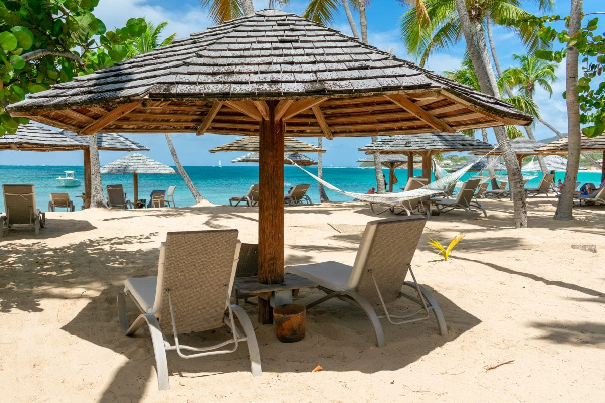 Good seats (and much more) available at 20% savings right now at Curtain Bluff, Antigua | SBPR