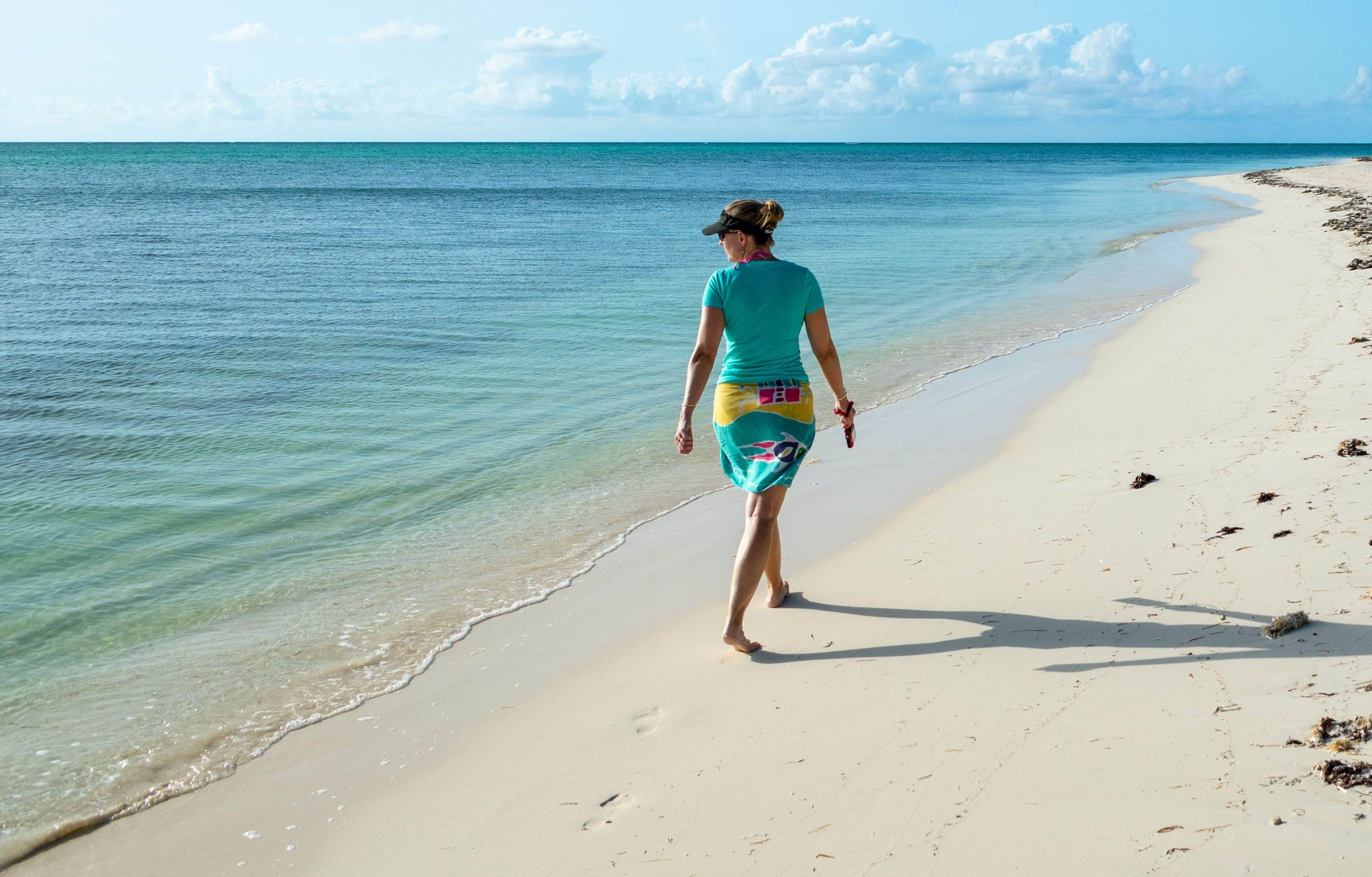 First Steps on Sandy Point, North Caicos | SBPR