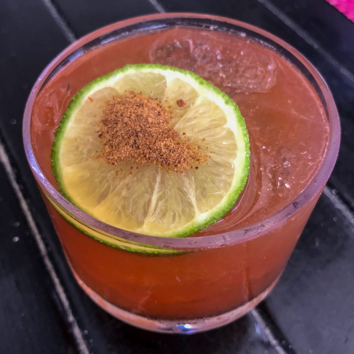Old Fashioned Rum Punch at Ana's on the Beach, Antigua | SBPR