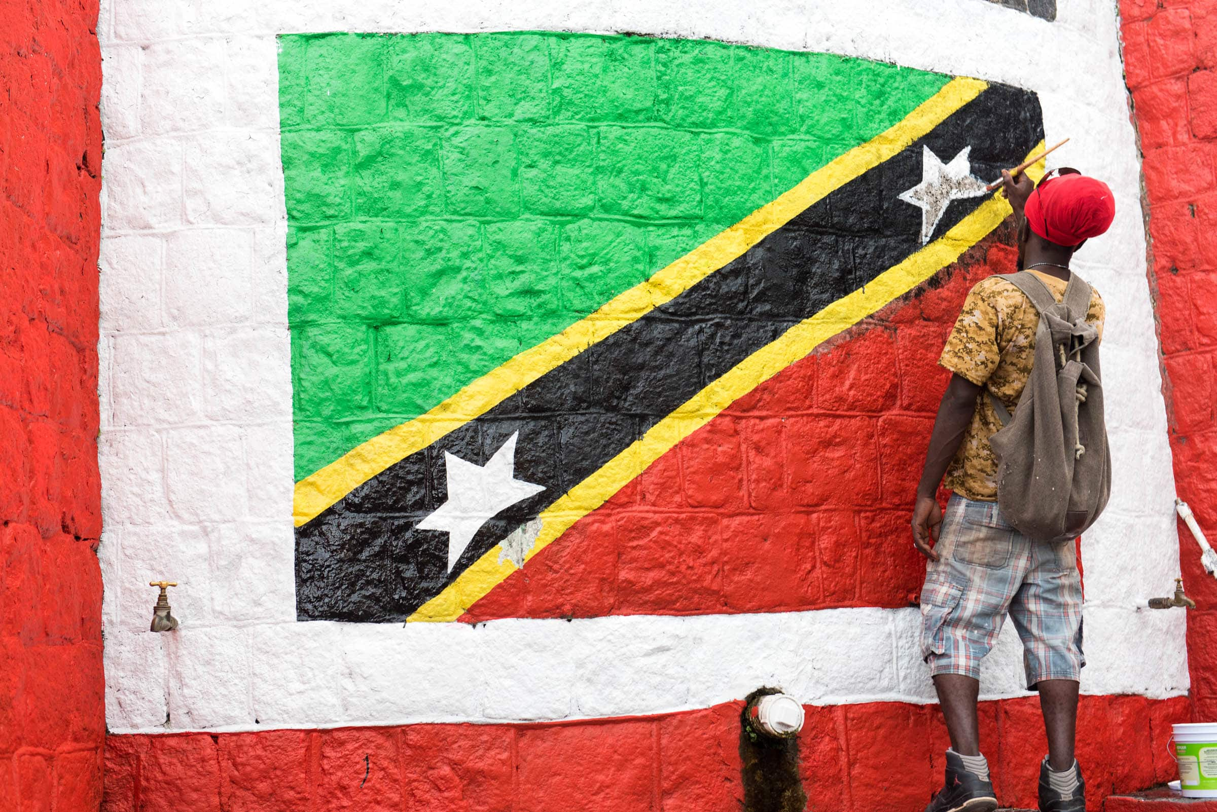 St. Kitts & Nevis Flag | Credit: Patrick Bennett