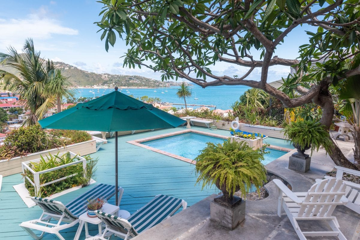 Pool at Bellavista Bed & Breakfast, St. Thomas | Credit: Patrick Bennett