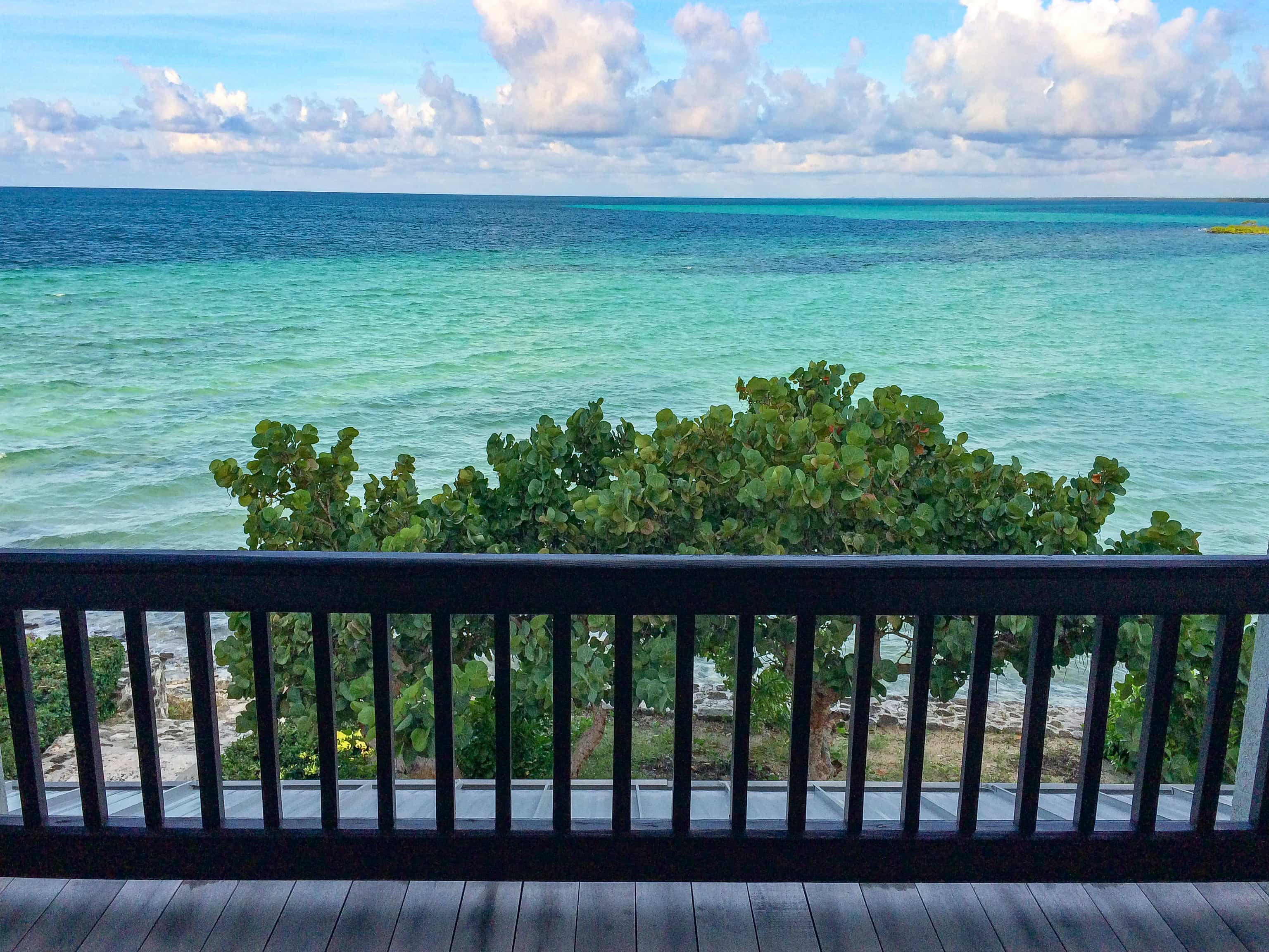 Master Bedroom view from Gumbo Limbo Villa at Deep Water Cay, The Bahamas | SBPR