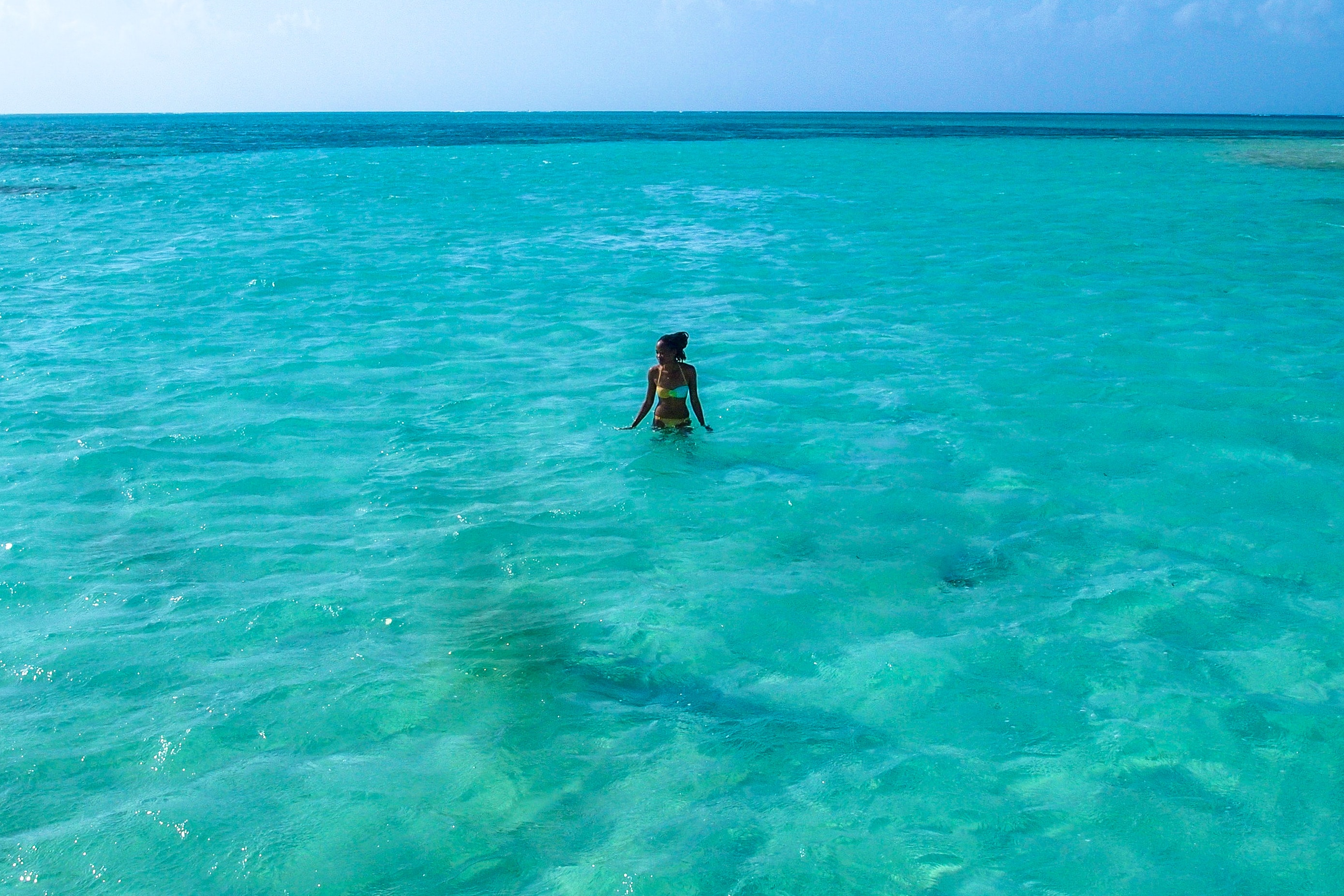 Wading Around Nylon Pool, Tobago | SBPR
