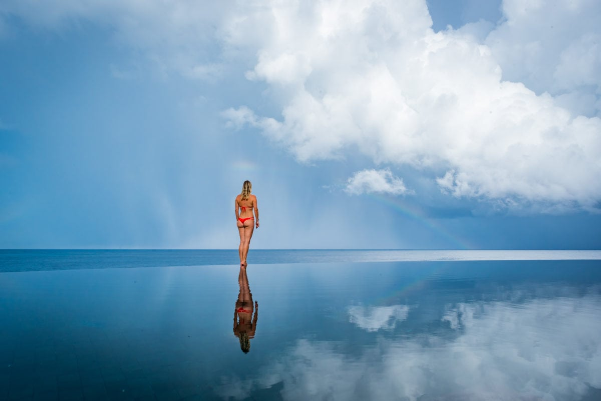 Ani Dominican Republic seamless infinity pools