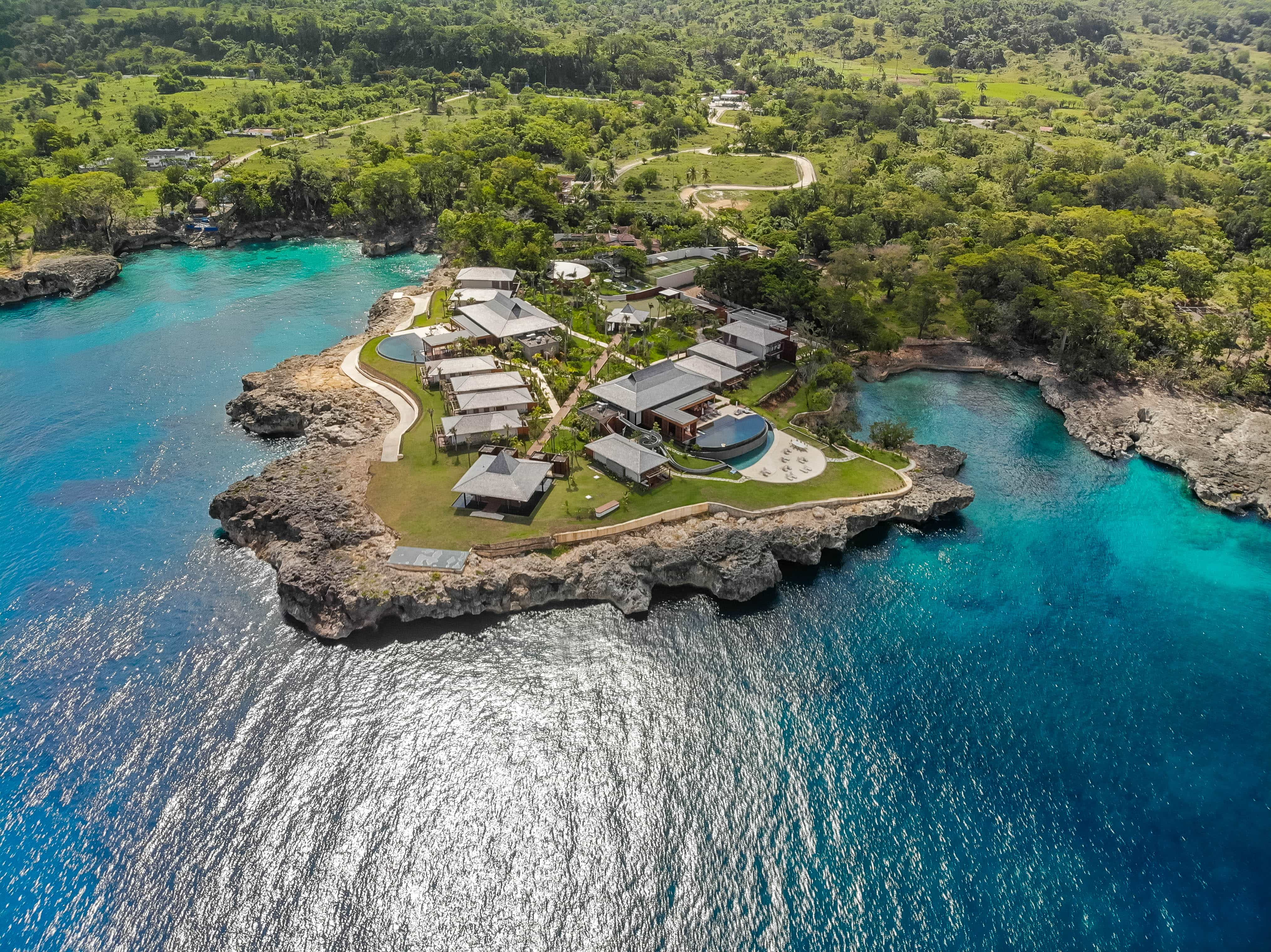Location is everything and Ani Villas has a location better than most on its own secluded peninsula jutting into Dominican blue.