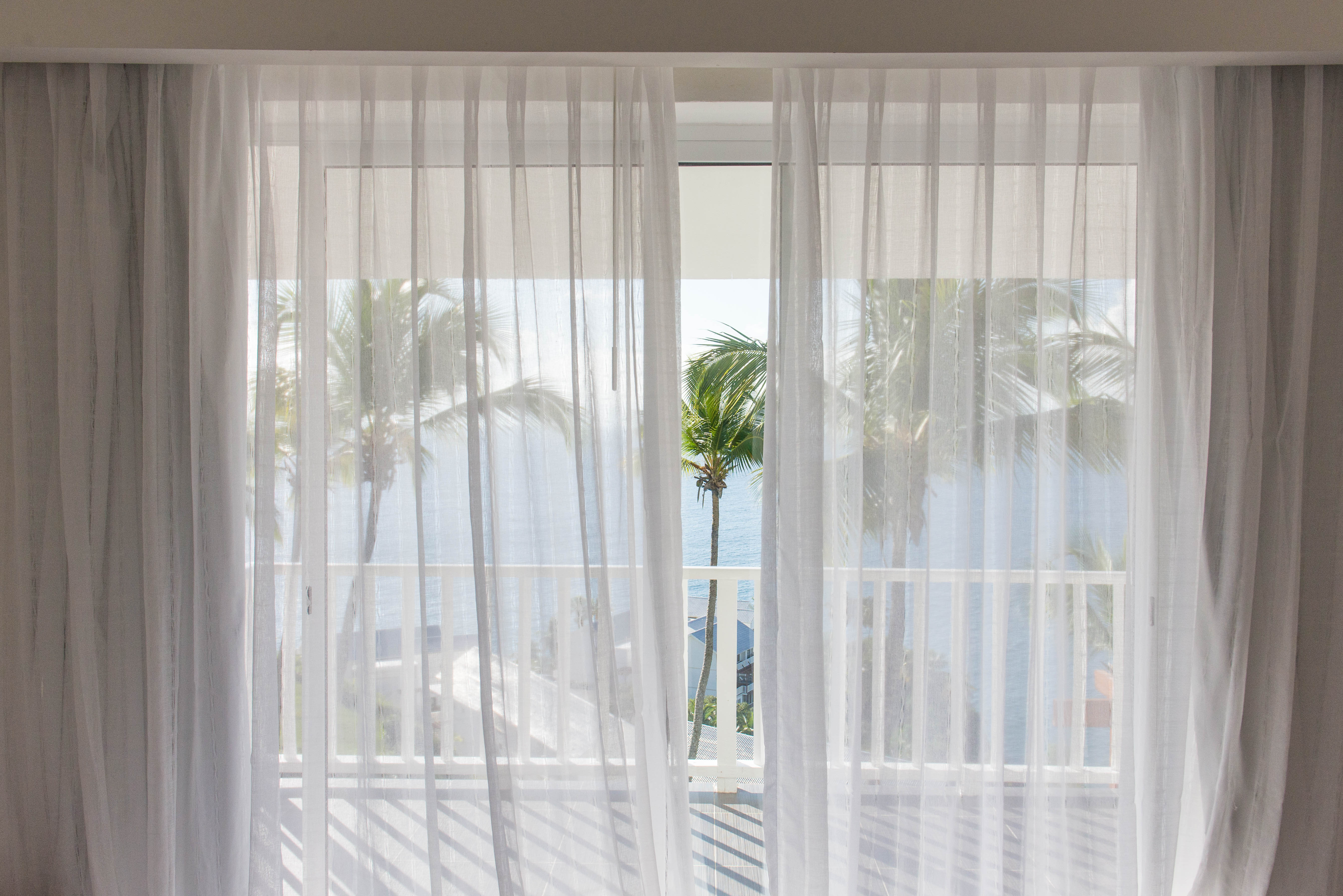 Luckily, the rooms are laid out so the view is always there.