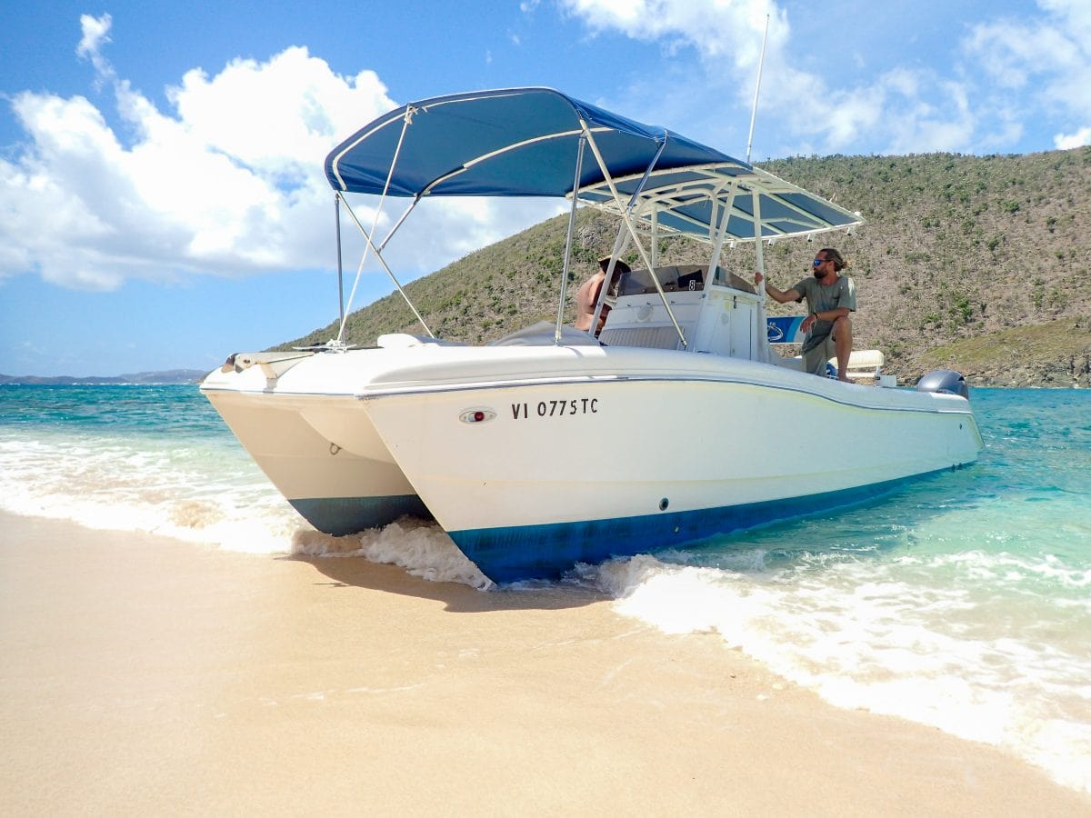 Definitely include a day of boating with See and Ski Powerboat Rentals on your next visit to St. Thomas/St. John | SBPR