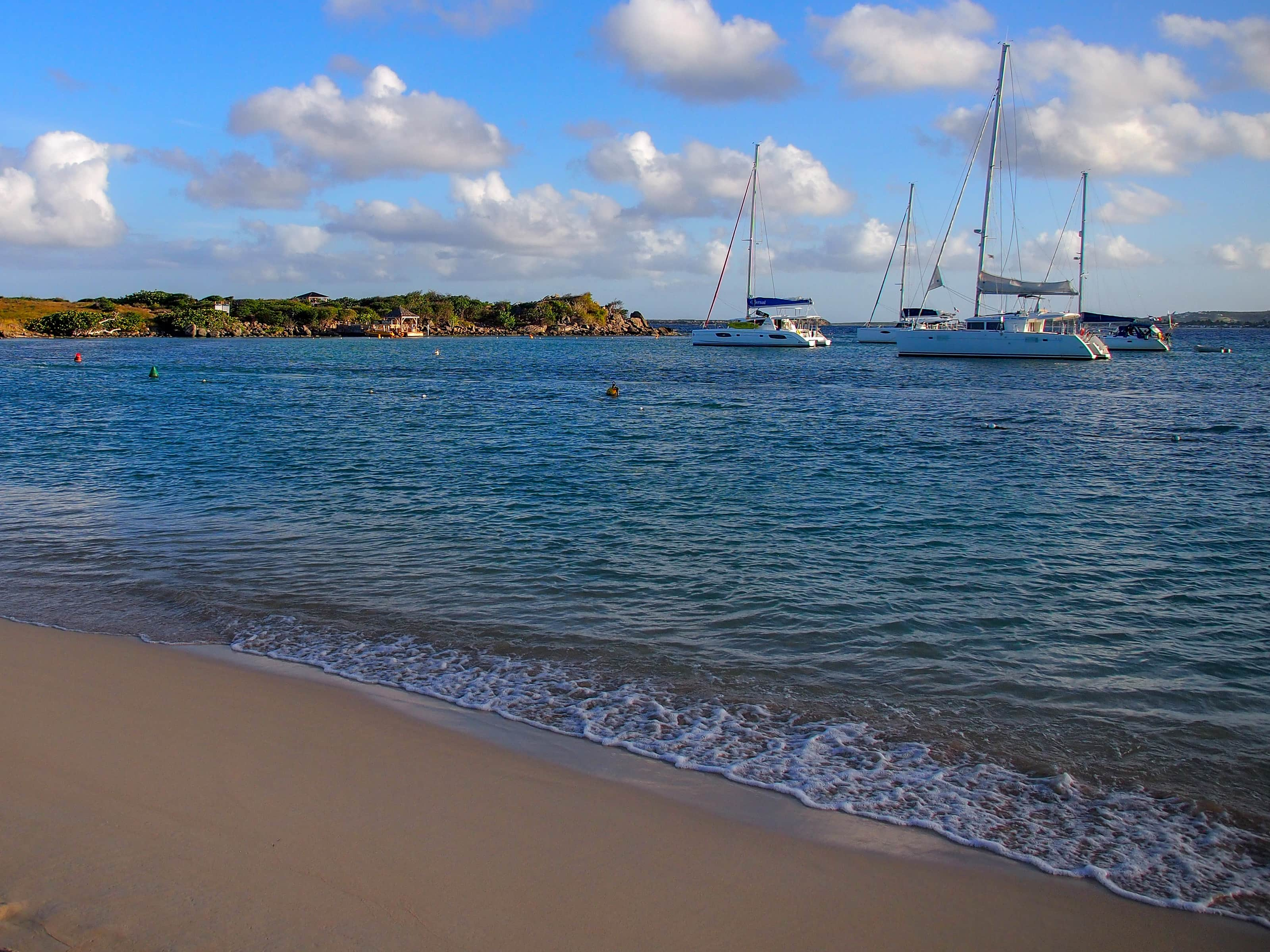 Golden hour at Pinel Island, St. Martin | SBPR