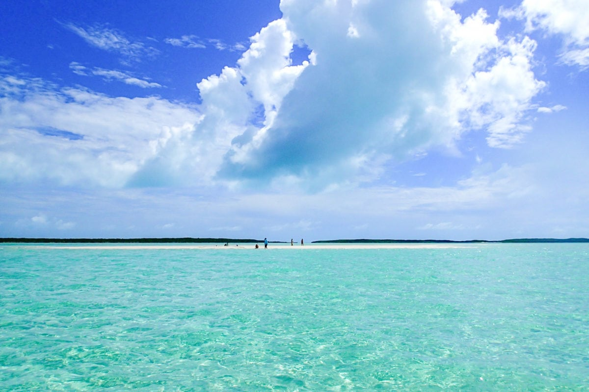 Sandbars like this one are literally minutes away from Grand Isle Resort & Spa, Exuma | travel deals | SBPR