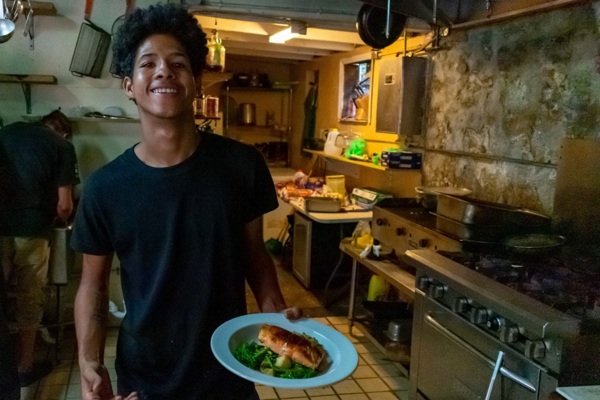 This 16 year-old chef is a wizard in the kitchen at Cibone in Frederiksted, St. Croix | SBPR