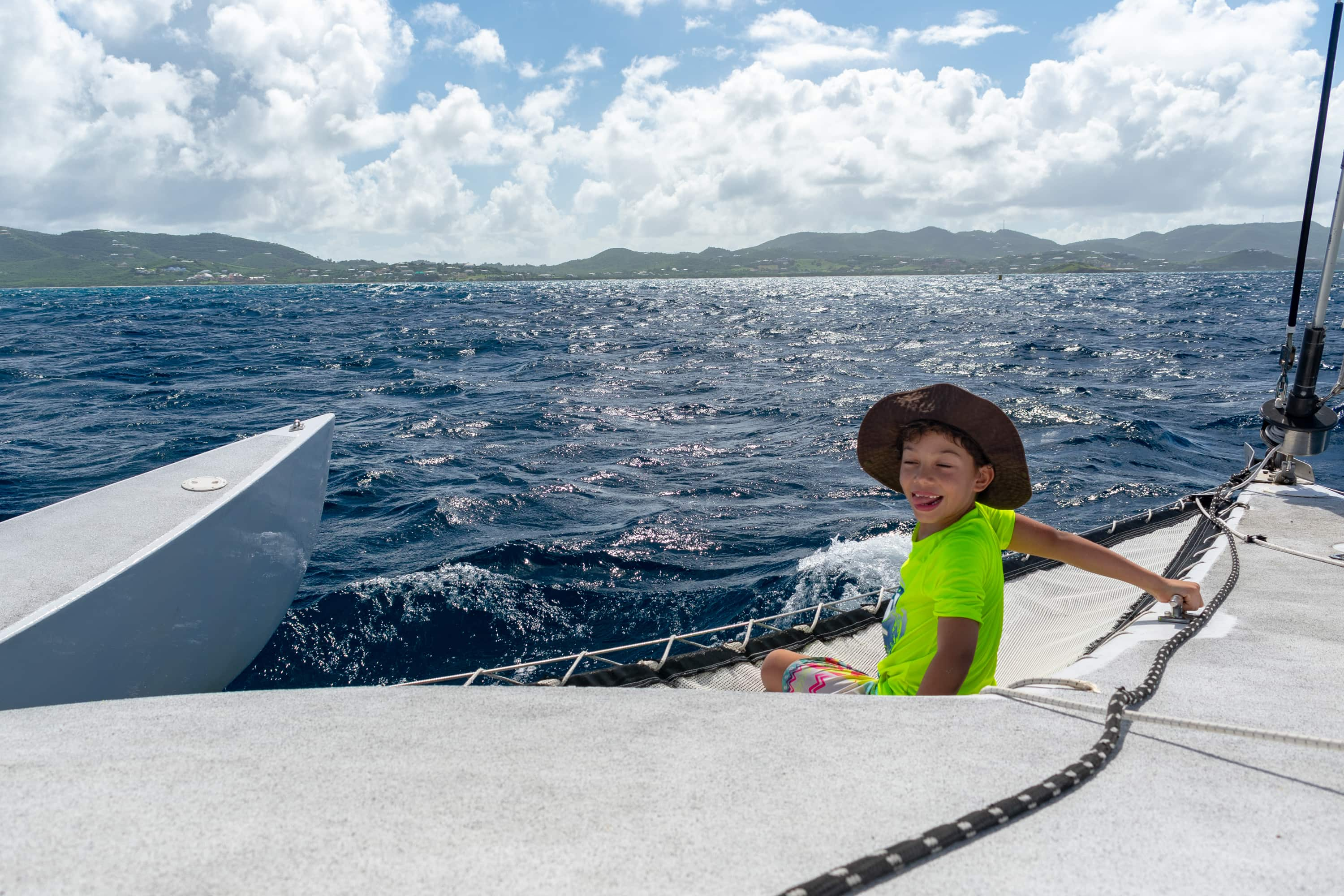 Caribbean Sailing yields smiles | SBPR