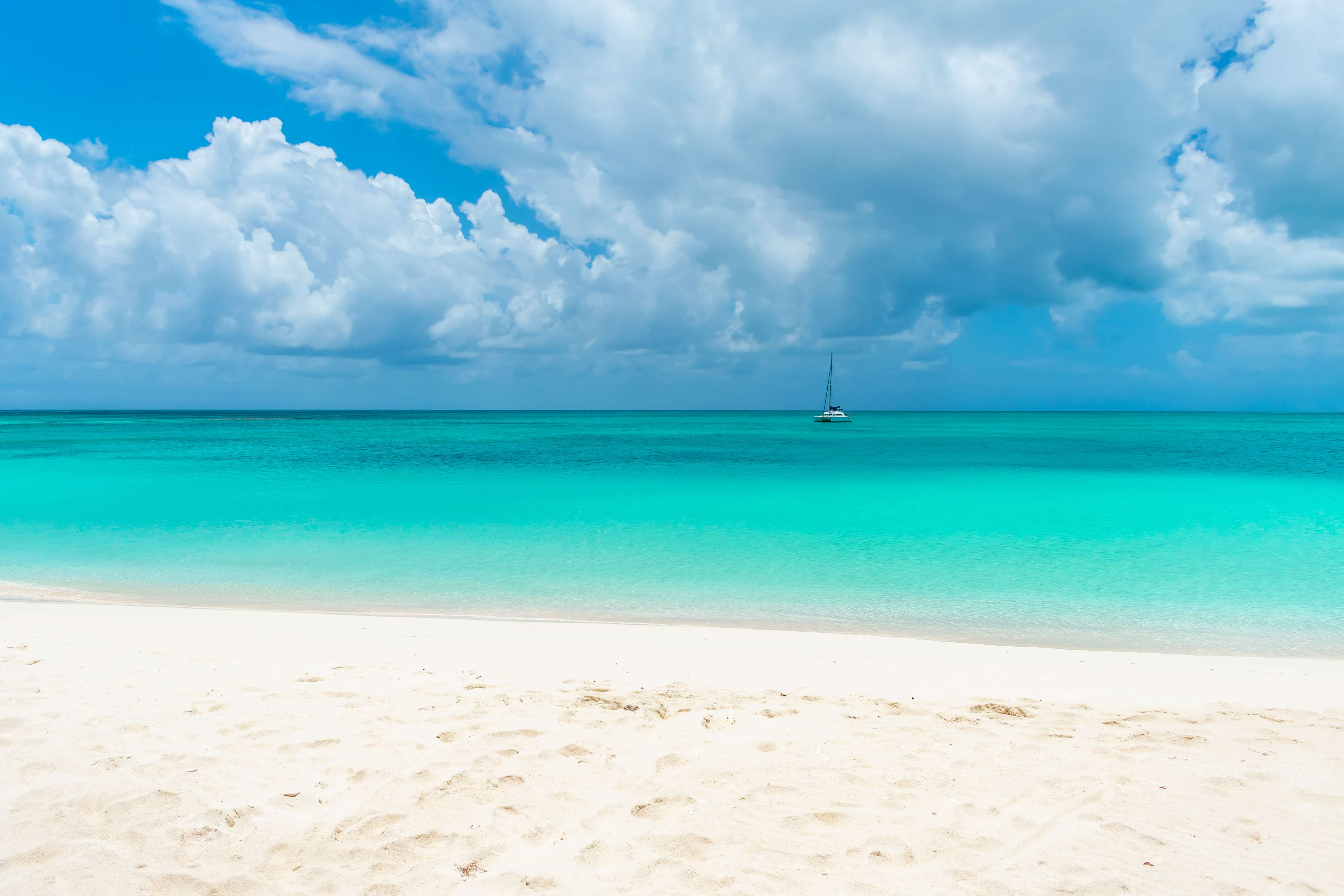 Stunning Princess Diana Beach, Barbuda | SBPR