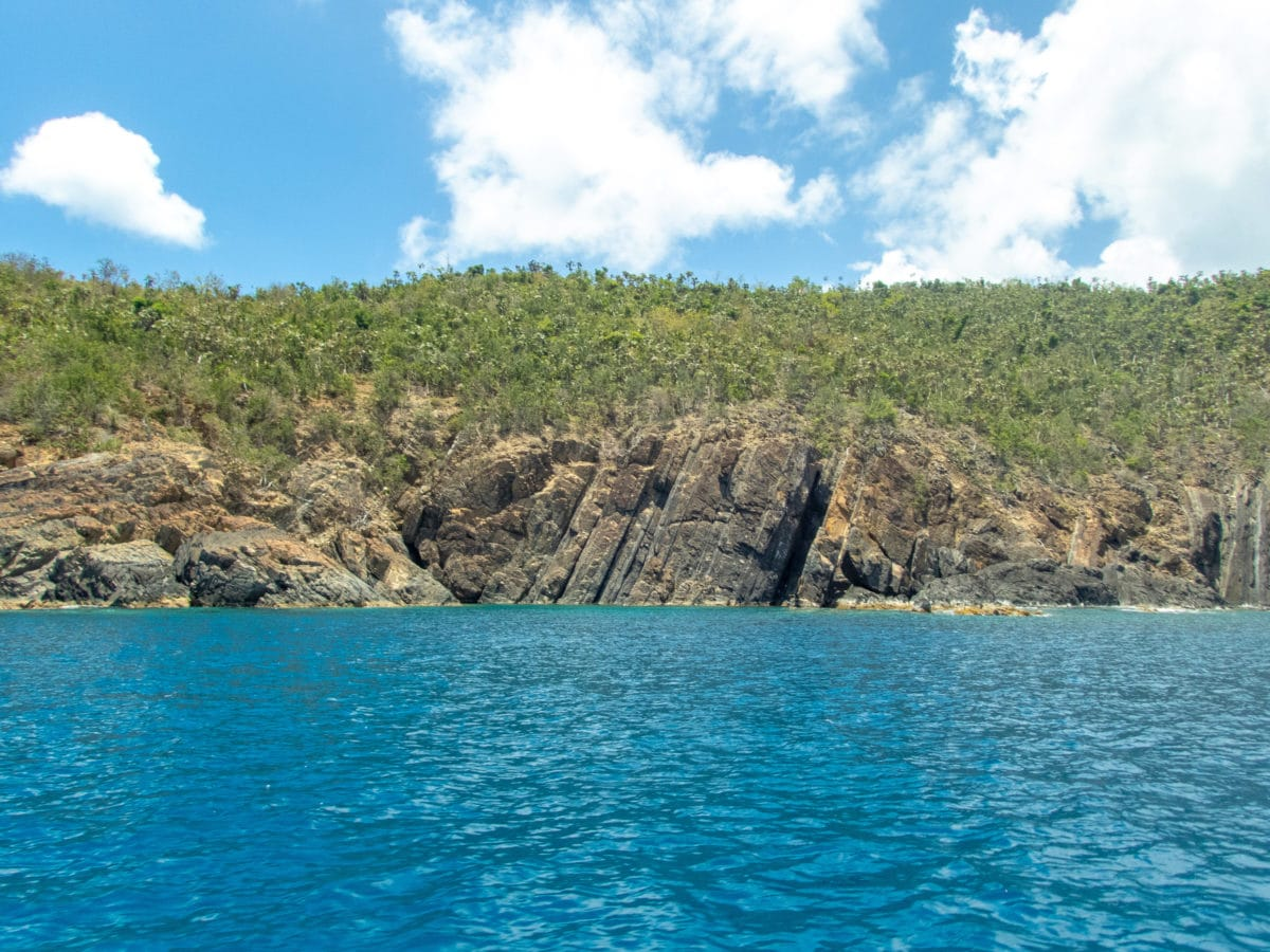 West Coast of Outer Brass Island, St. Thomas | SBPR
