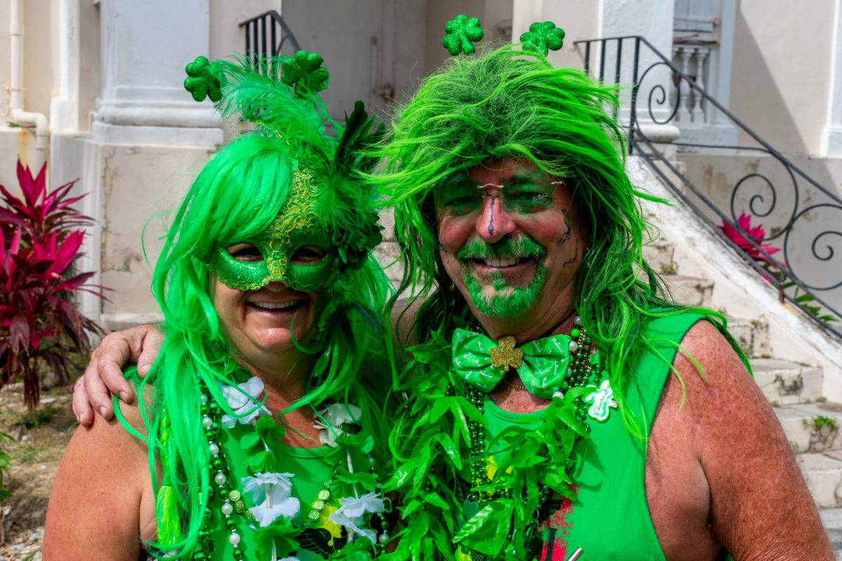 All smiles for St. Croix St. Patrick's Day Parade in St. Croix | SBPR