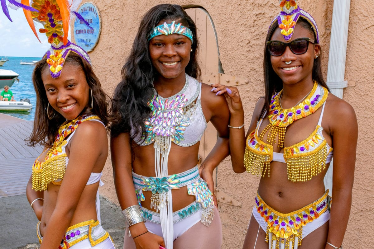 Wait, is this Carnival or St. Patrick's Day..? St. Croix St. Patrick's Day Parade | SBPR