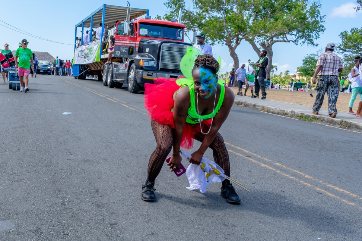 Carnival mixes with St. Patrick's Day like nowhere else in St. Croix | St. Croix St. Patrick's Day Parade | SBPR