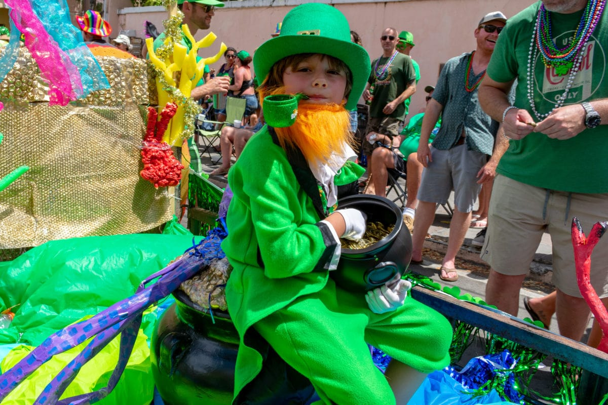 Crucian-Irish Eyes Are Smiling, 2018 St. Croix St. Patrick's Day Parade | SBPR
