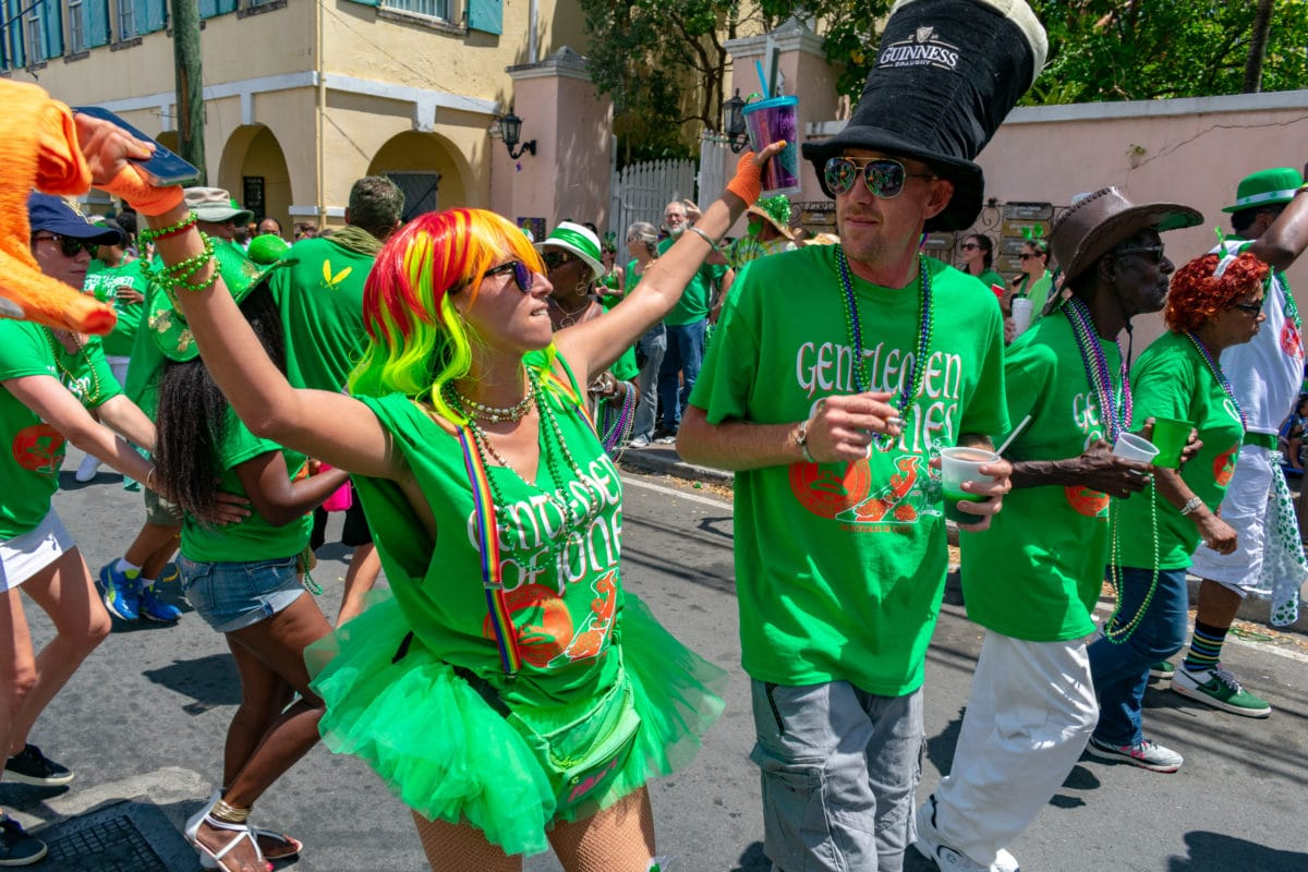Feelin' it for St. Croix St. Patrick's Day Parade | SBPR