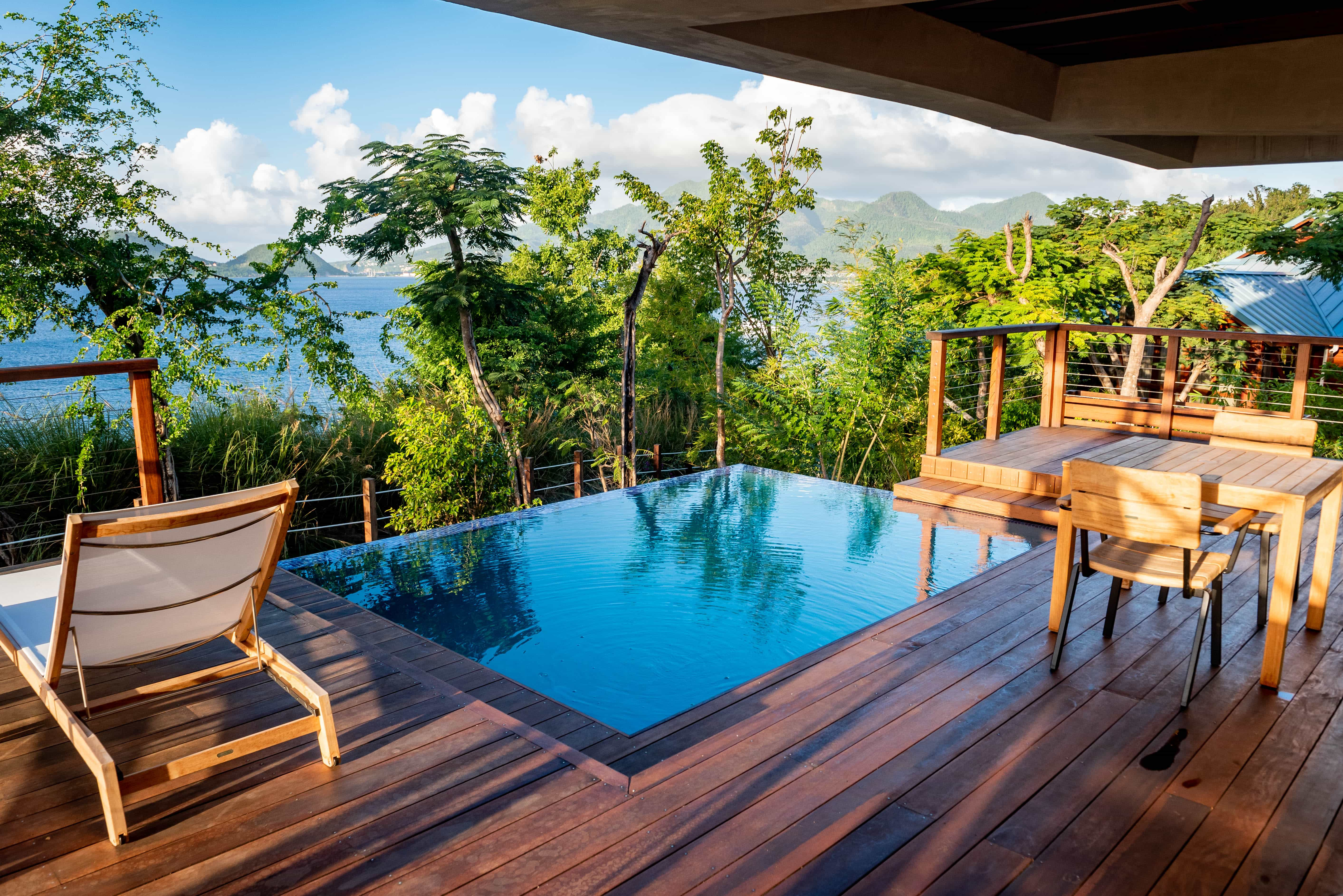 Each villa comes equipped with a plunge pool discreetly tucked behind foliage. What you do with it, is up to you!