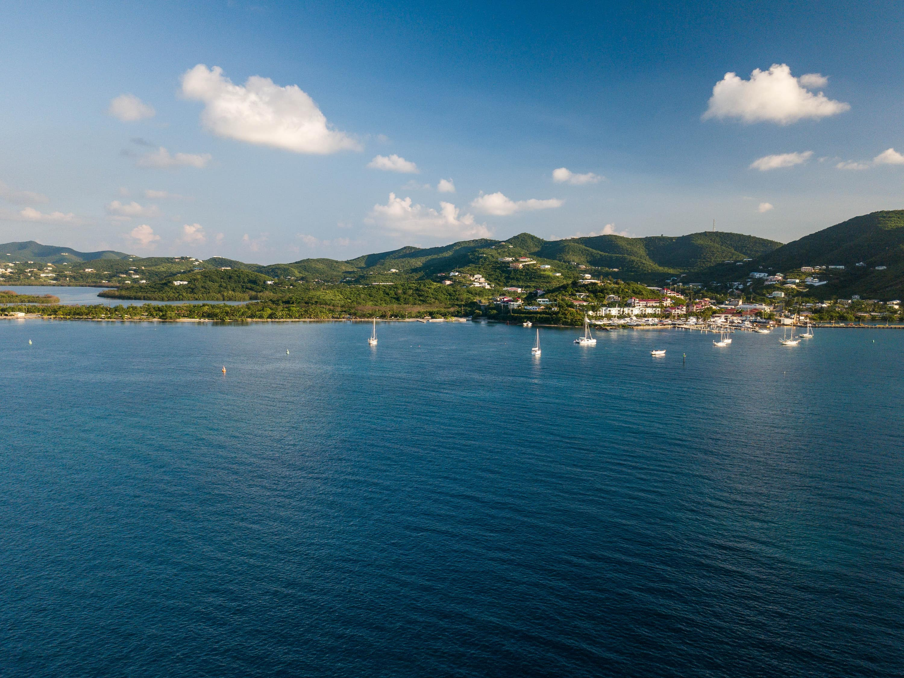 Gallows Bay, St. Croix by Seaplane
