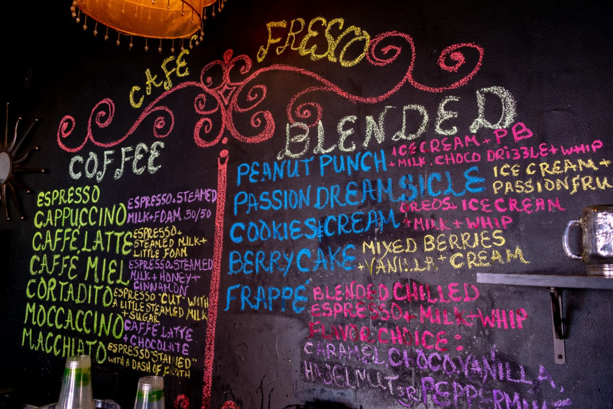 Coffees and blended treats on offer at Cafe Fresco St. Croix | SBPR