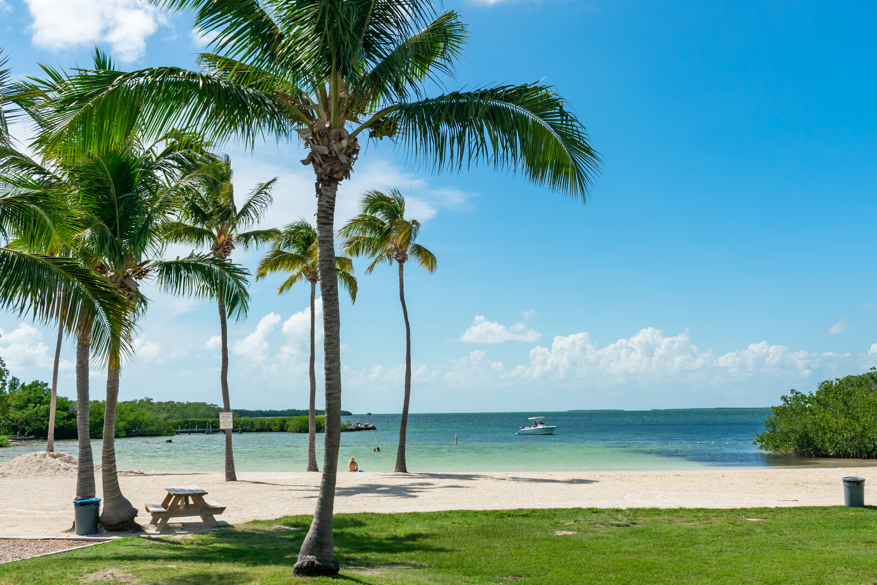 Beach at Founders Park, Islamorada