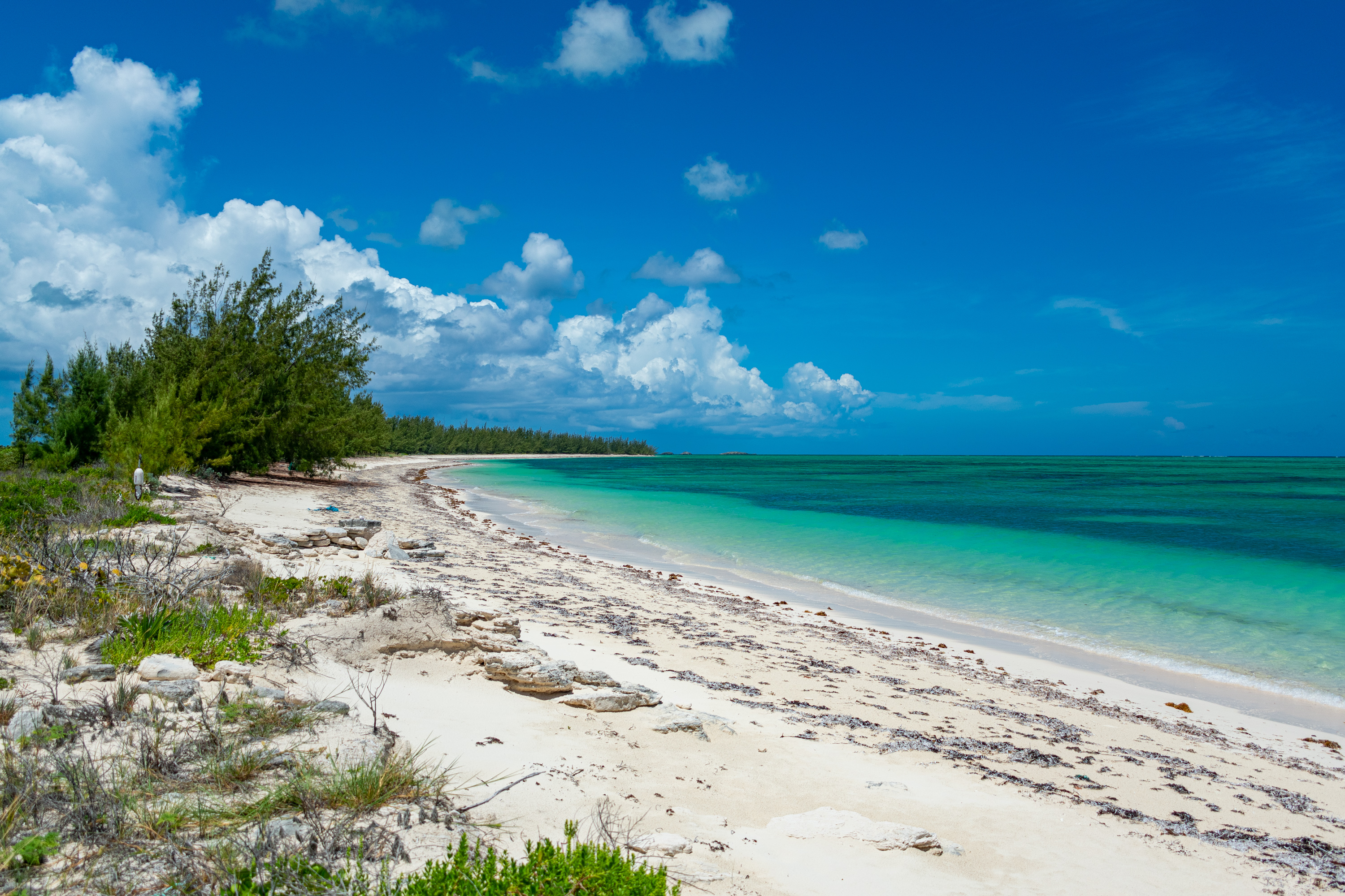 Pumpkin Bluff Beach, North Caicos