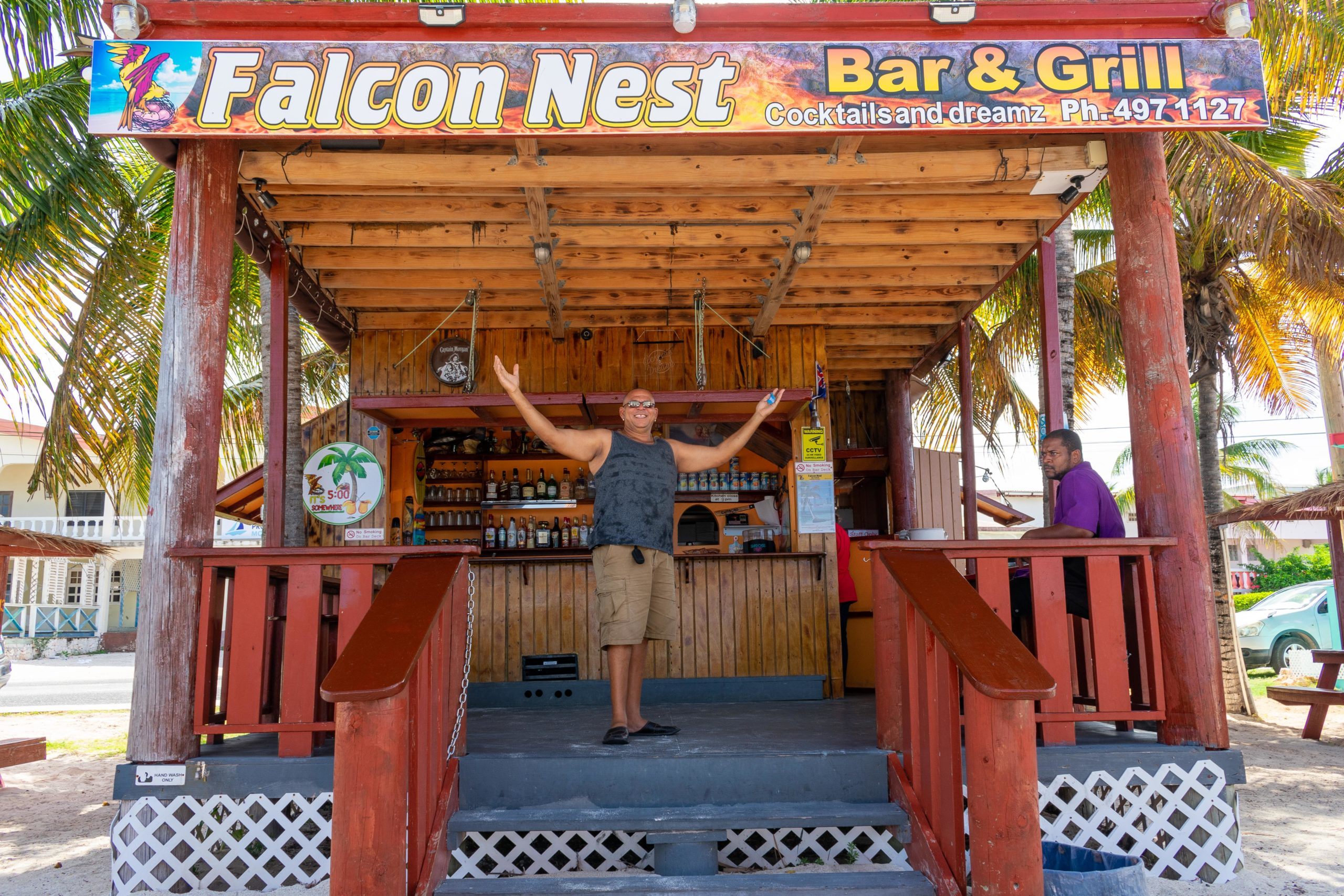 Falcon Nest Bar and Grill, Anguilla