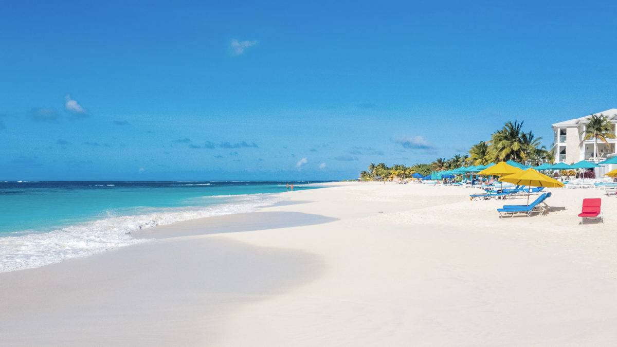 Anguilla Beach Zoom Virtual Background