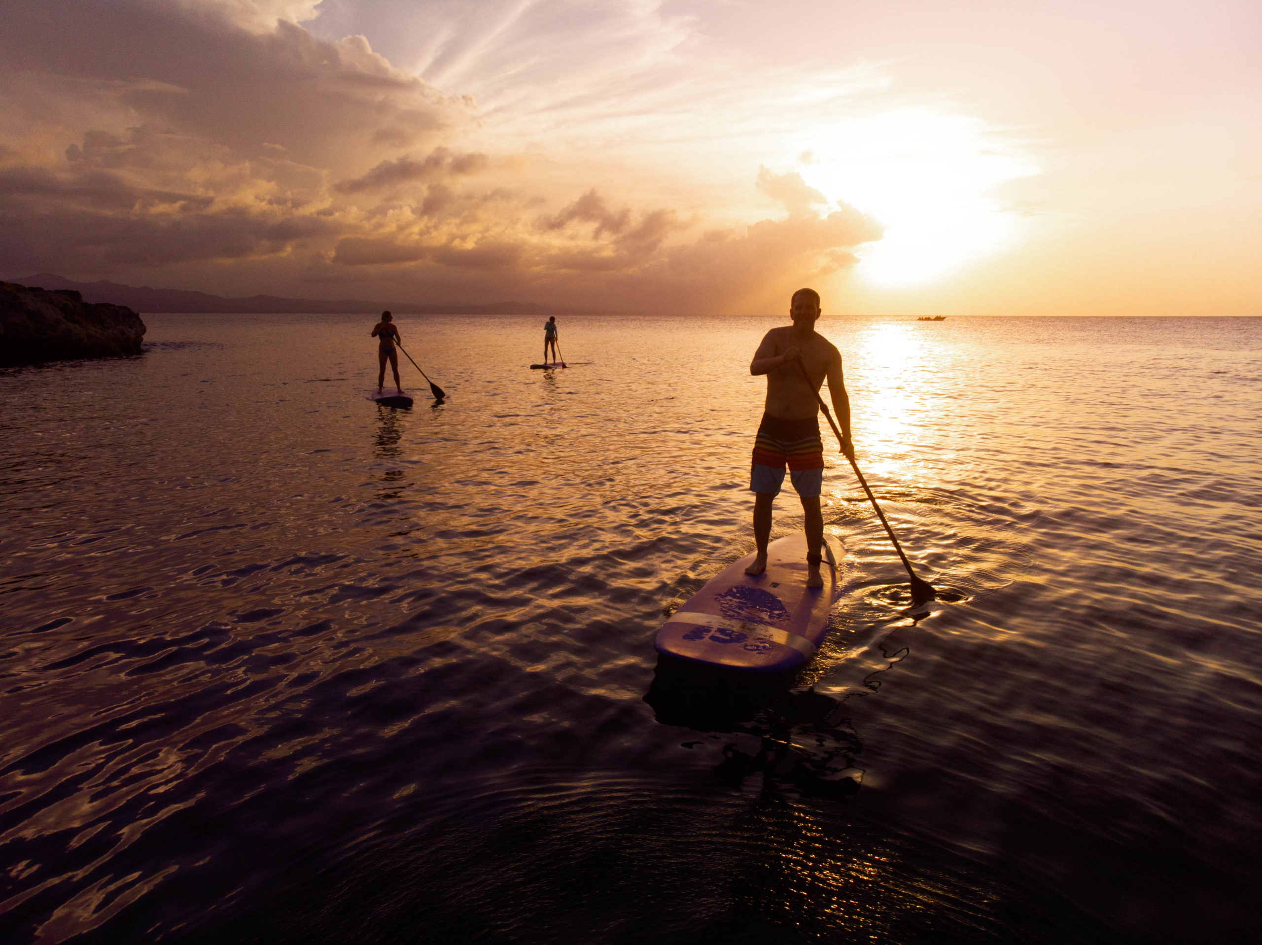Ani Dominican Republic Sunset Paddleboaring
