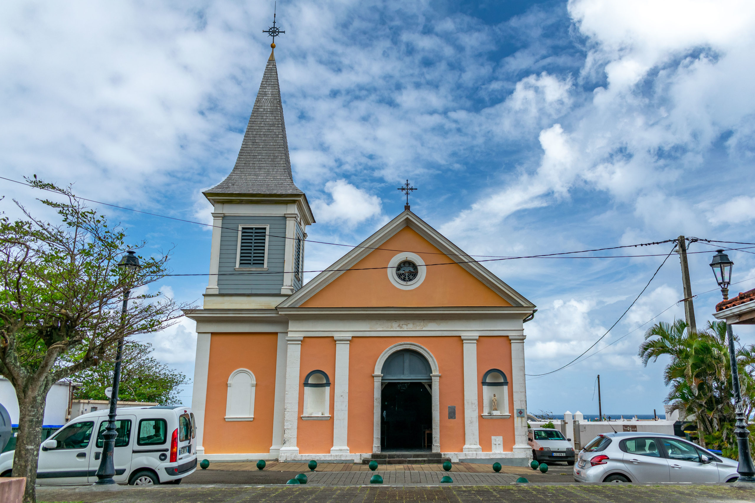 Church of St. Catherine in Grand-Riviere, Martinique
