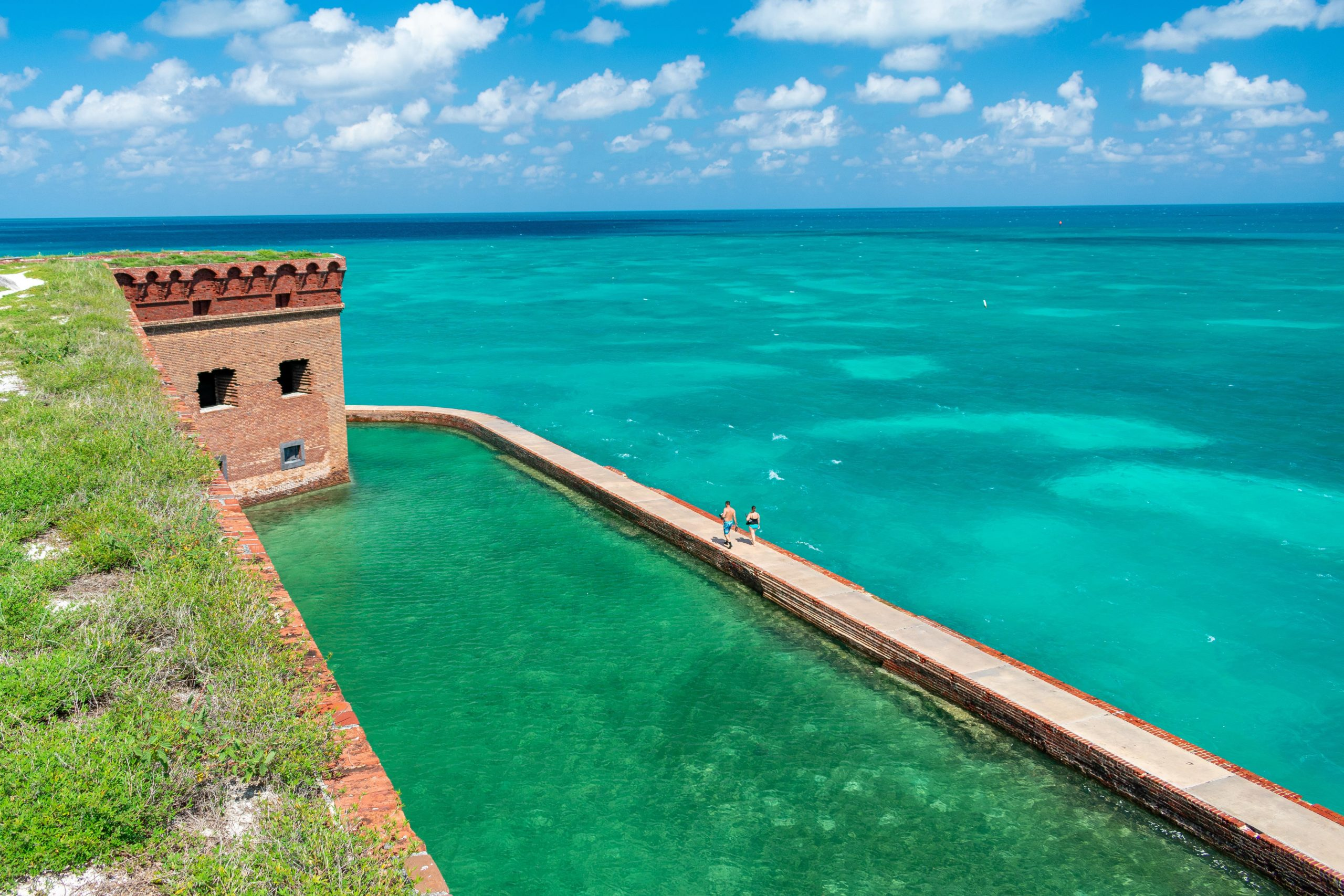 Fort Jefferson Seawalls