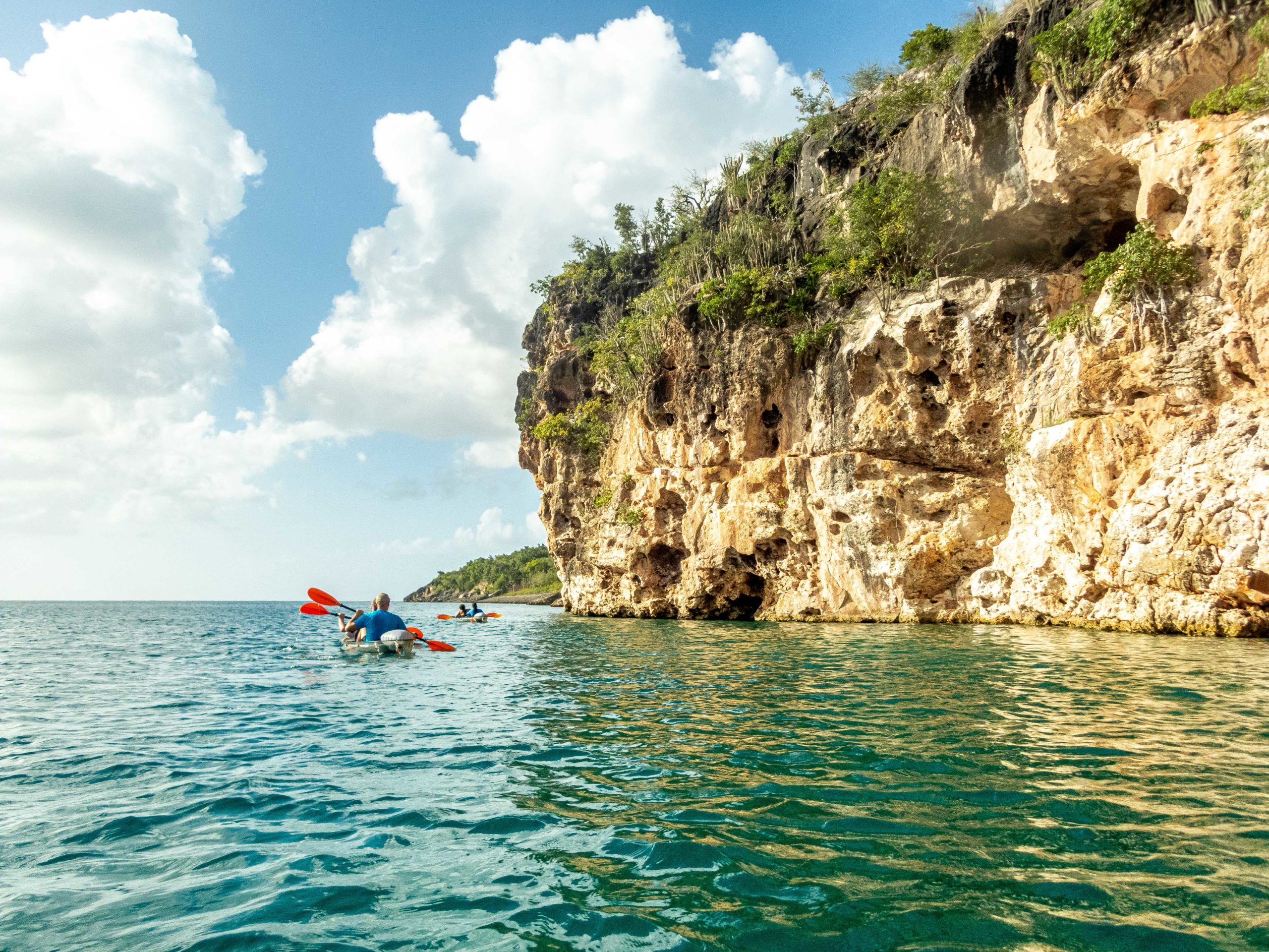Kayaking Anguilla