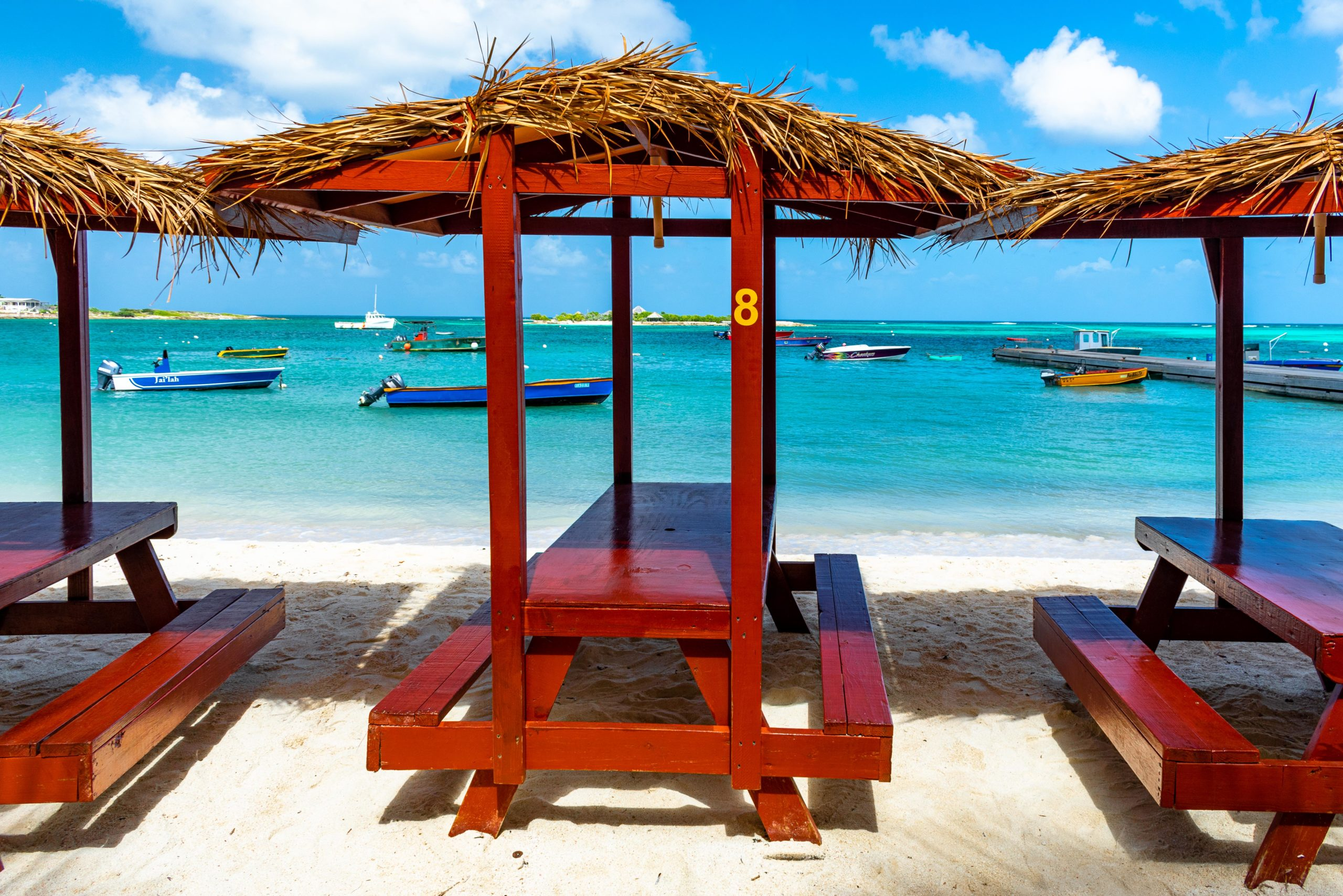 Seaside Seating in Island Harbour, Anguilla