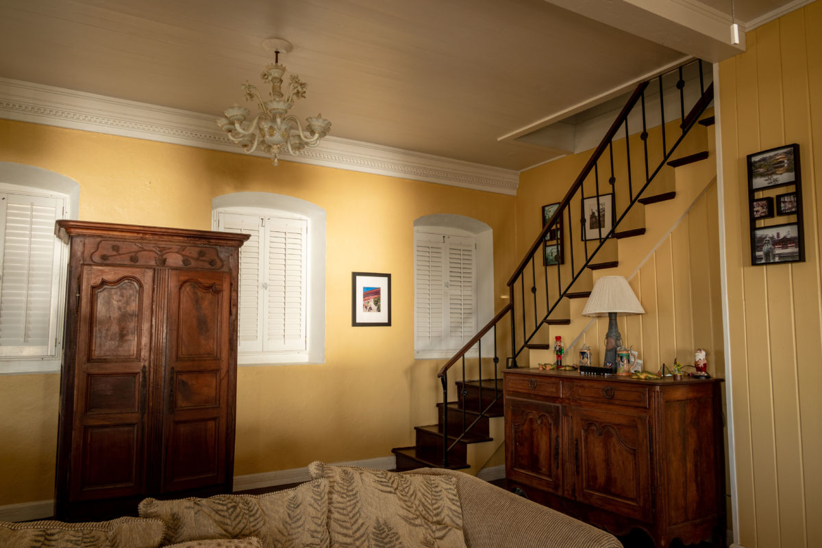 Inside the Manor House at Beresford Manor, St. Croix