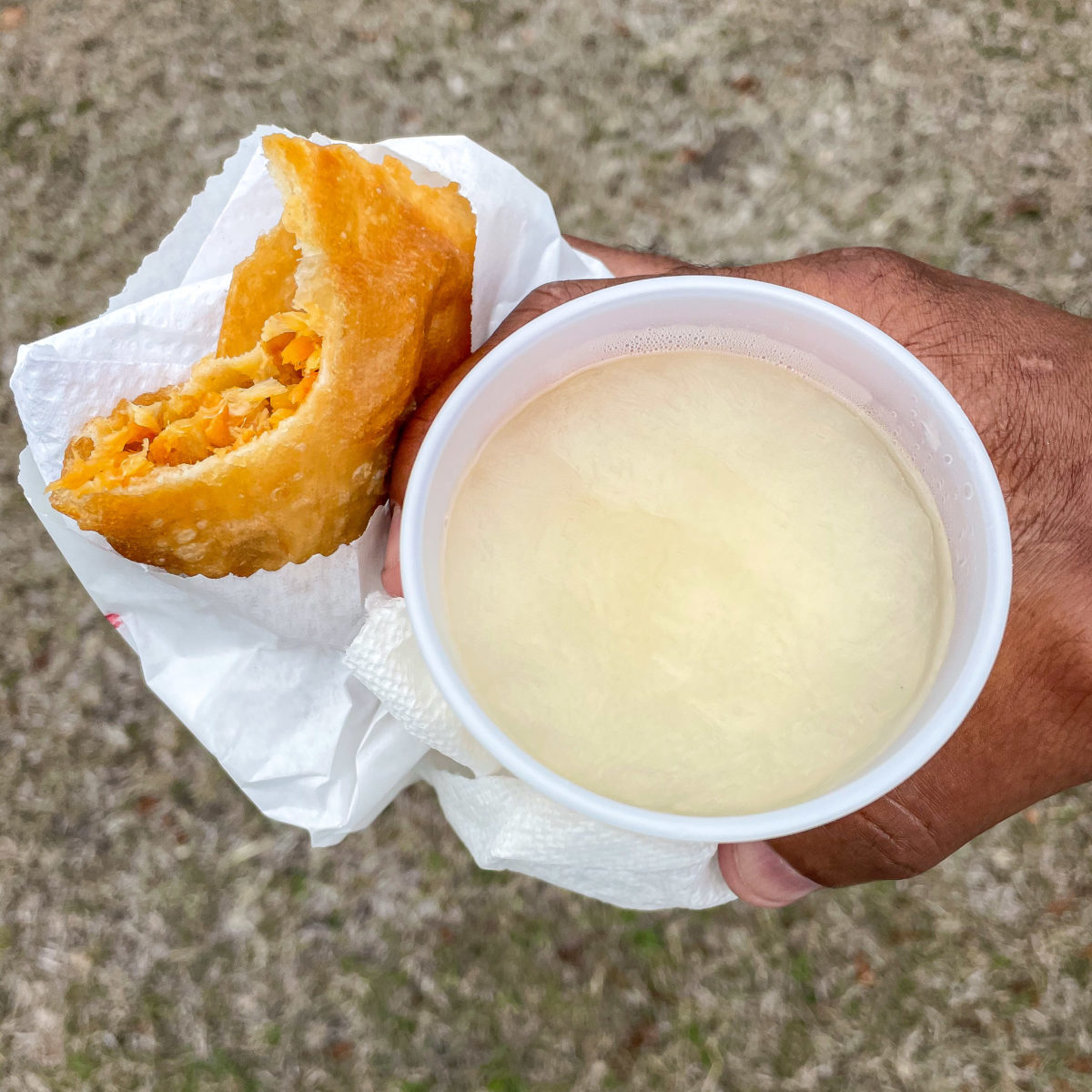 Saltfish Pate and Soursop Lindy