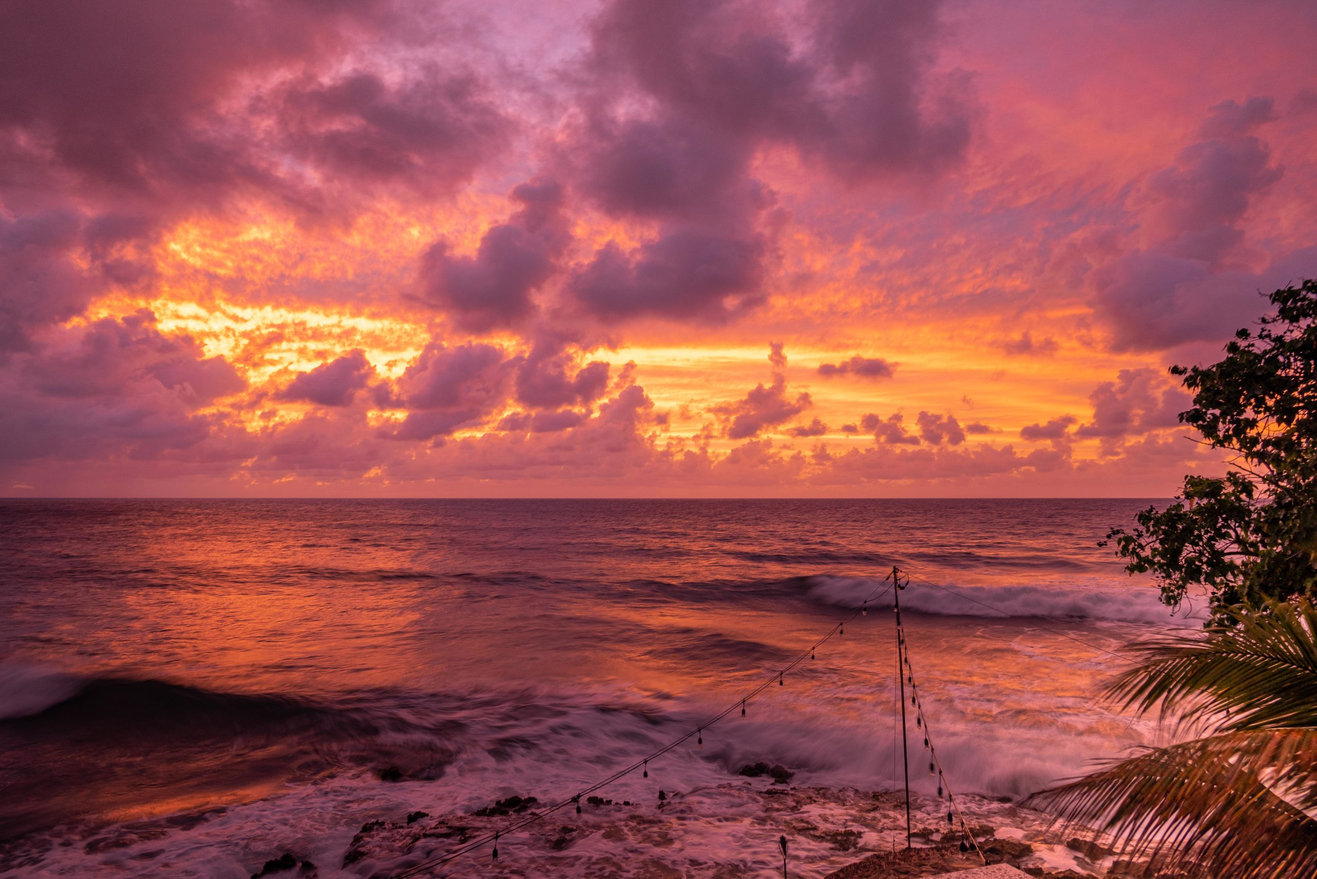 After The Sunset at The Waves at Cane Bay, St. Croix