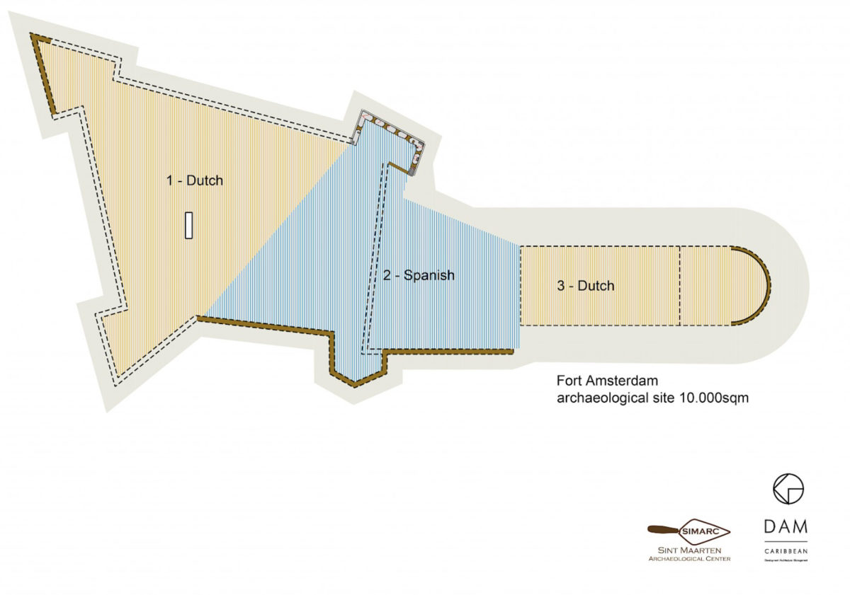 Fort Amsterdam layout
