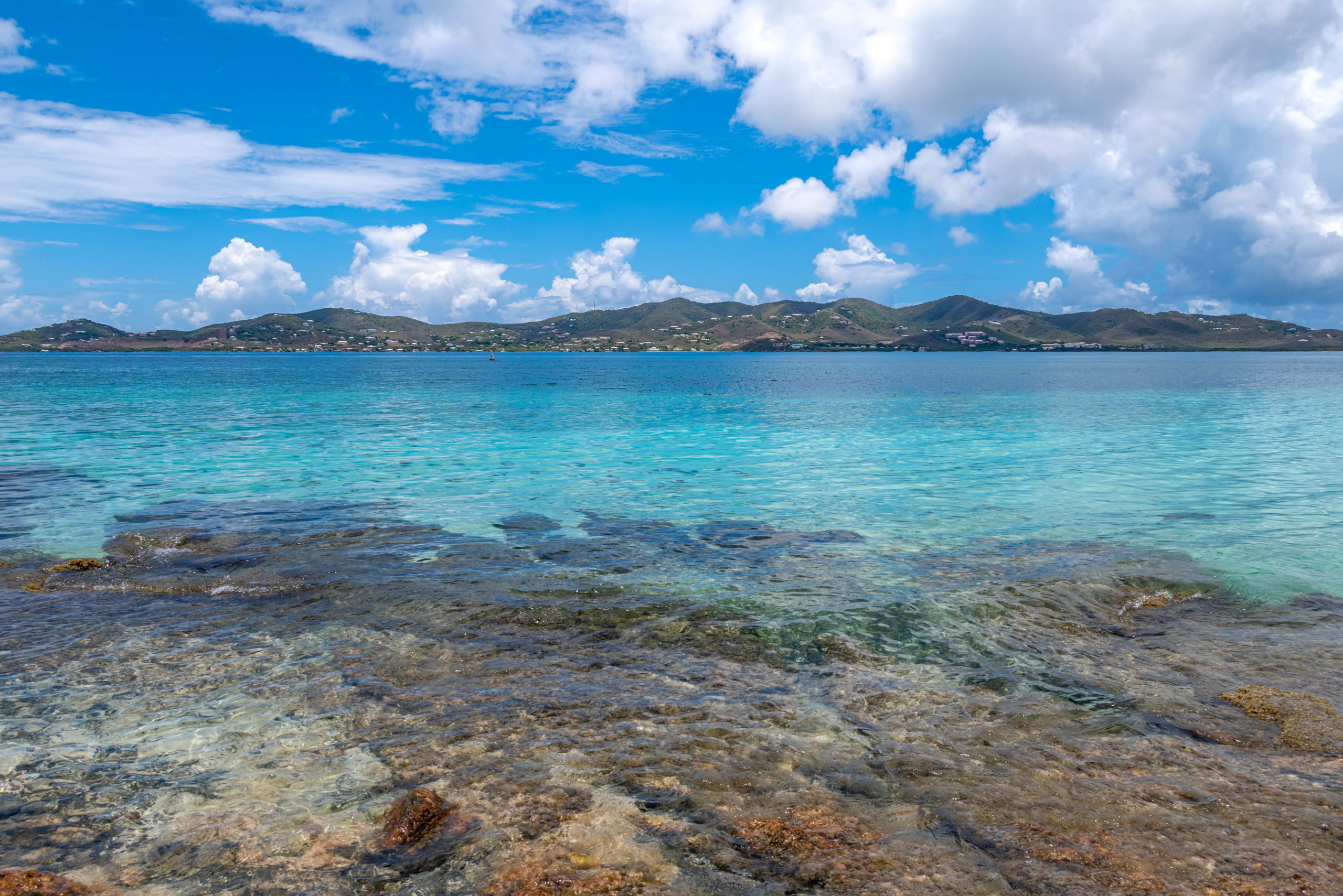 East End St. Croix from Buck Island